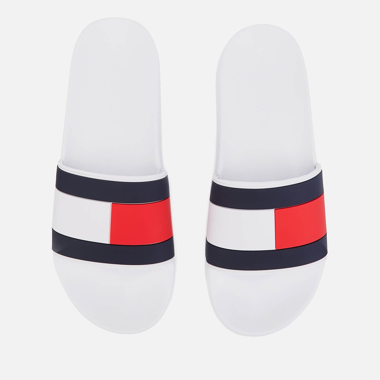 f598b470 Tommy Hilfiger Men's Essential Flag Pool Slide Sandals - White Mens  Footwear   TheHut.com