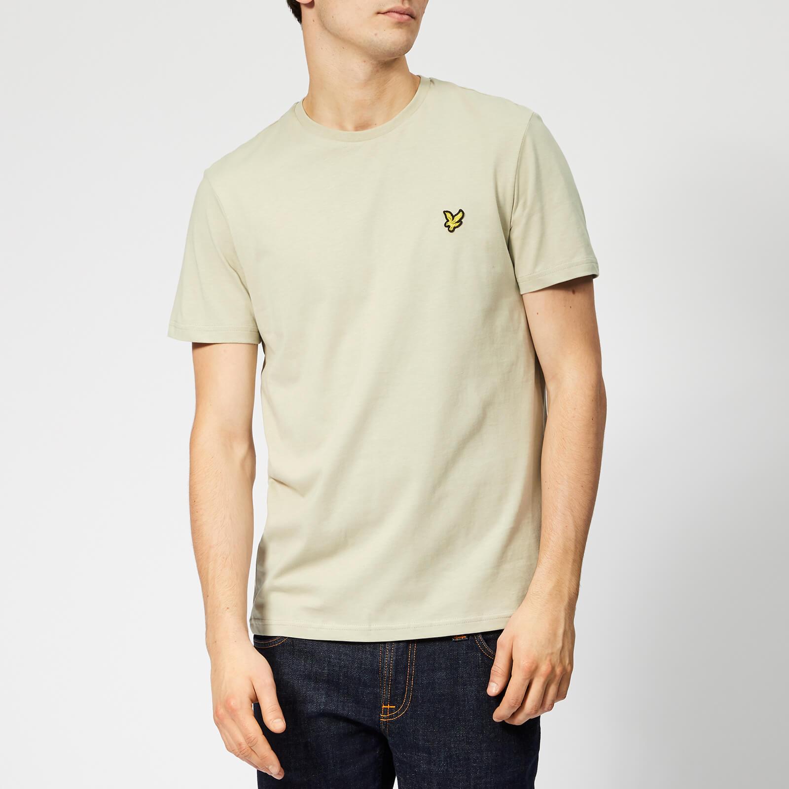 fd26d27a54256 Lyle & Scott Men's Plain T-Shirt - Green Stone Clothing | TheHut.com