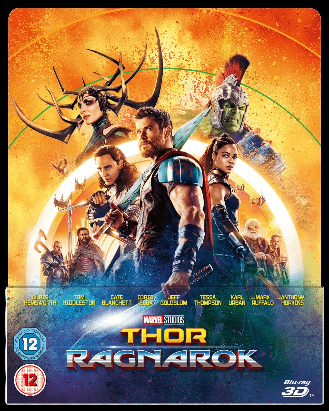 Thor 3: Tag der Entscheidung 3D - Zavvi Exklusives Lentikuläre Edition SteelBook (Inkl. 2D Blu-ray)