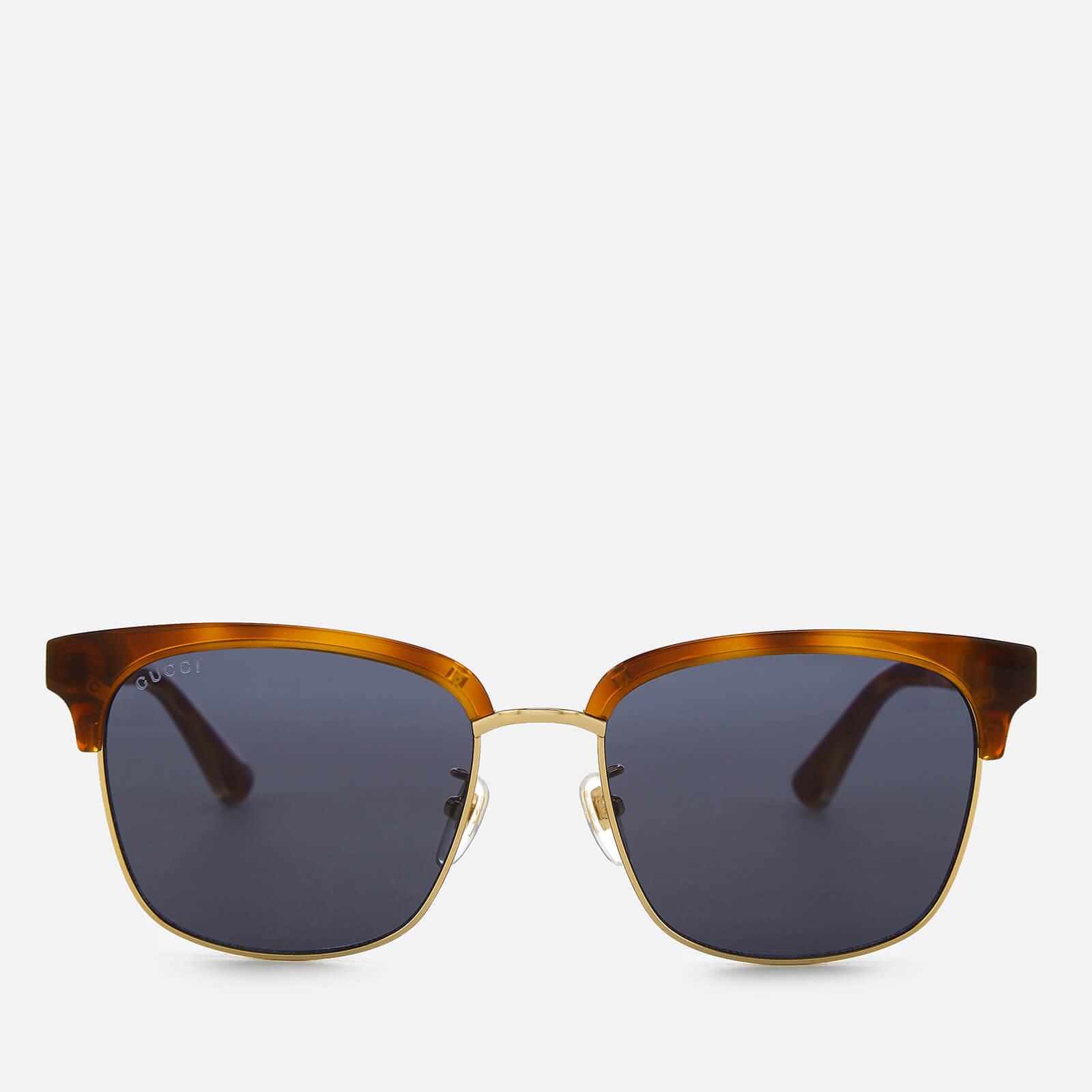 9f1c4ddf15f Gucci Men s Tortoiseshell Frame Sunglasses - Brown - Free UK Delivery over  £50