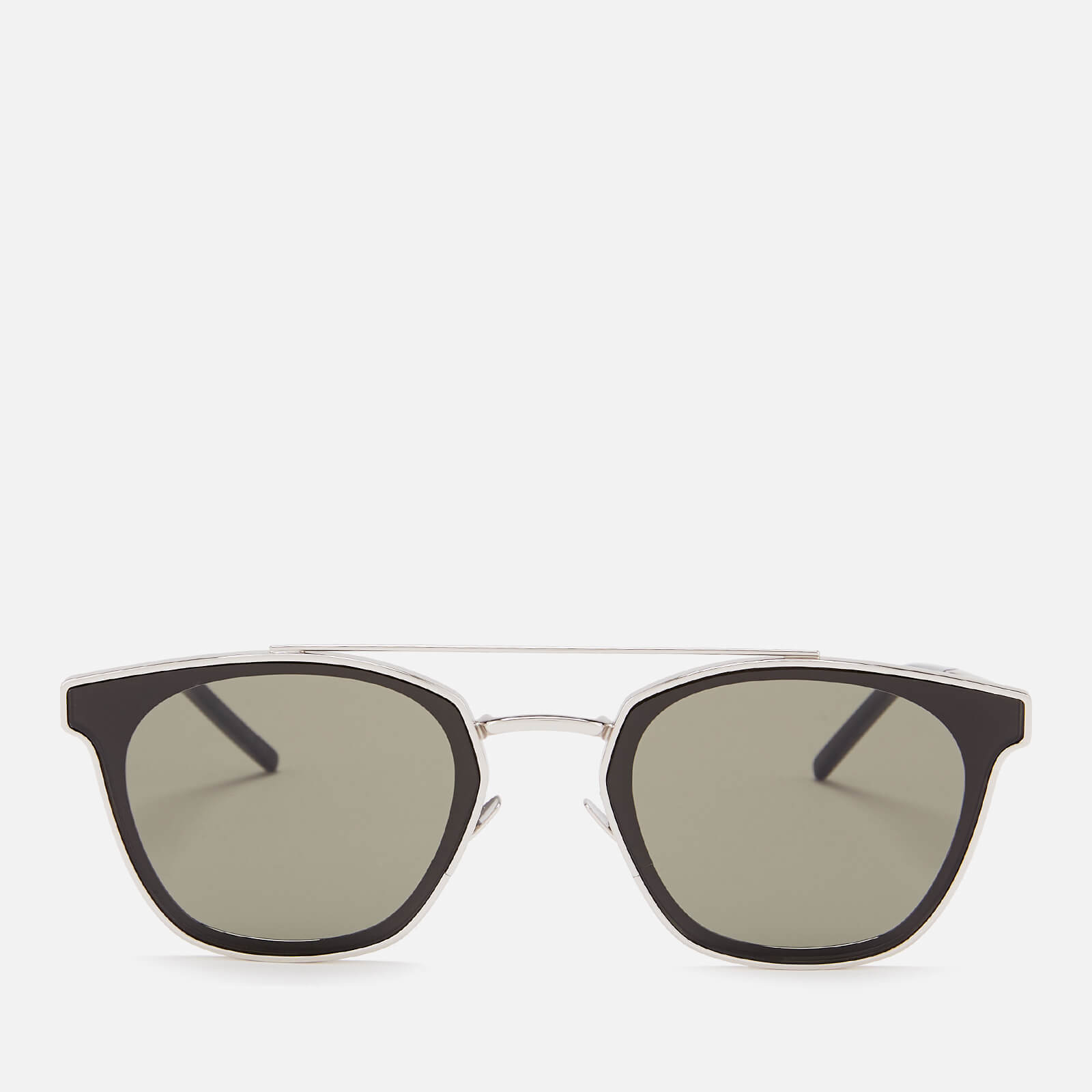 f376476e9b Saint Laurent Aviator Style Sunglasses - Silver - Free UK Delivery over £50