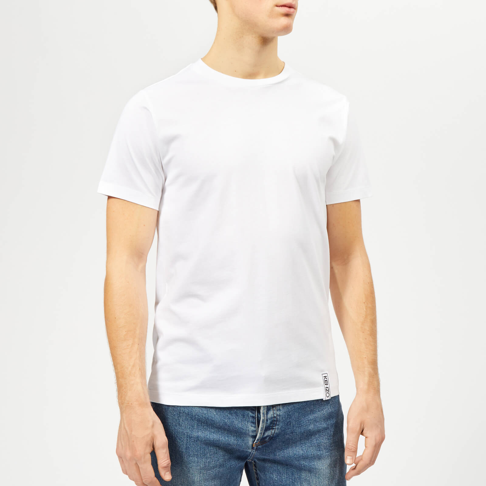 93c45a14 KENZO Men's Basic T-Shirt - White - Free UK Delivery over £50