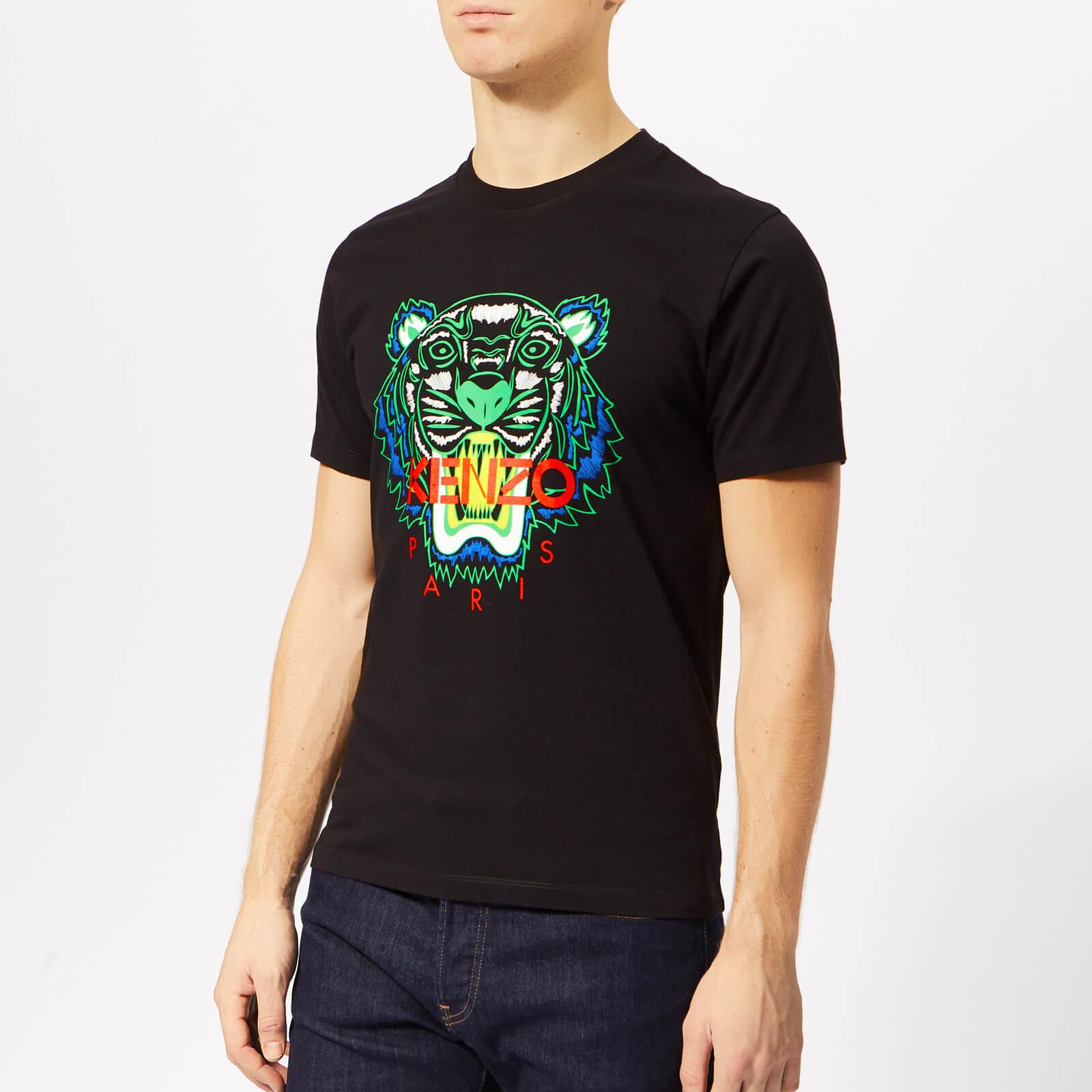 edddccab KENZO Men's Icon T-Shirt - Black - Free UK Delivery over £50