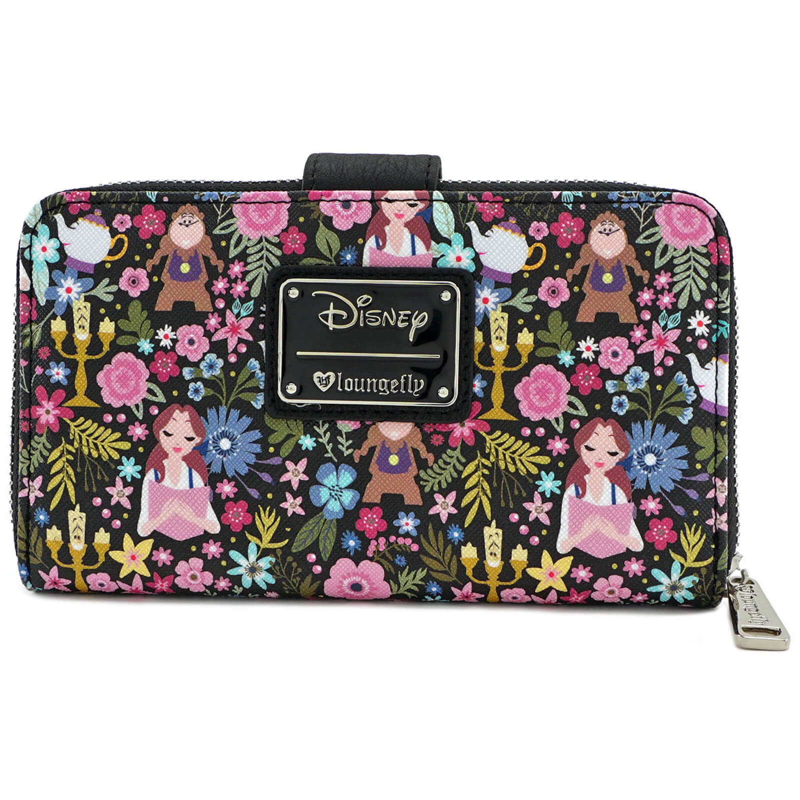 83156ab27a4 Loungefly Disney Beauty and the Beast Belle Floral Aop Wallet