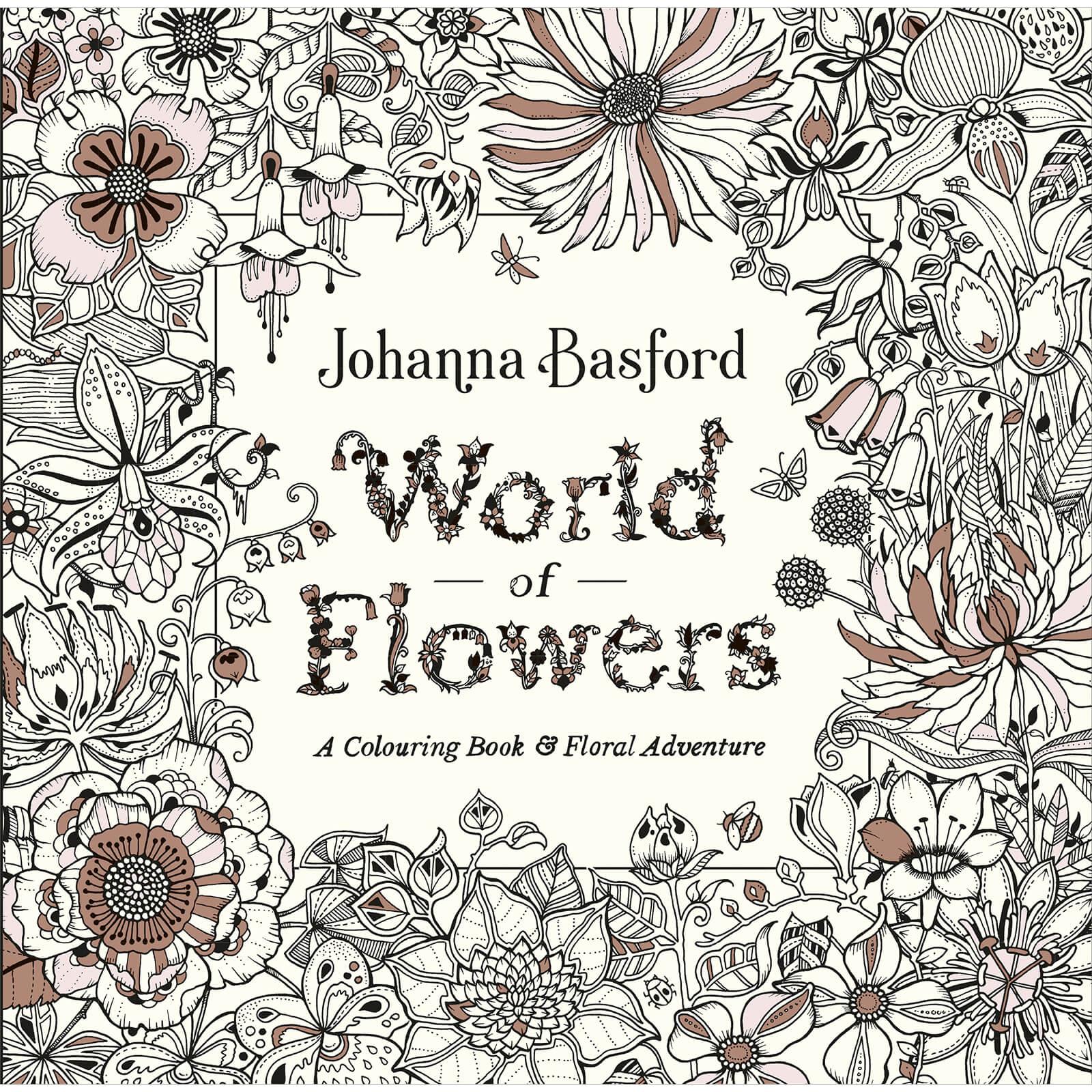 World of Flowers by Johanna Basford (Paperback)