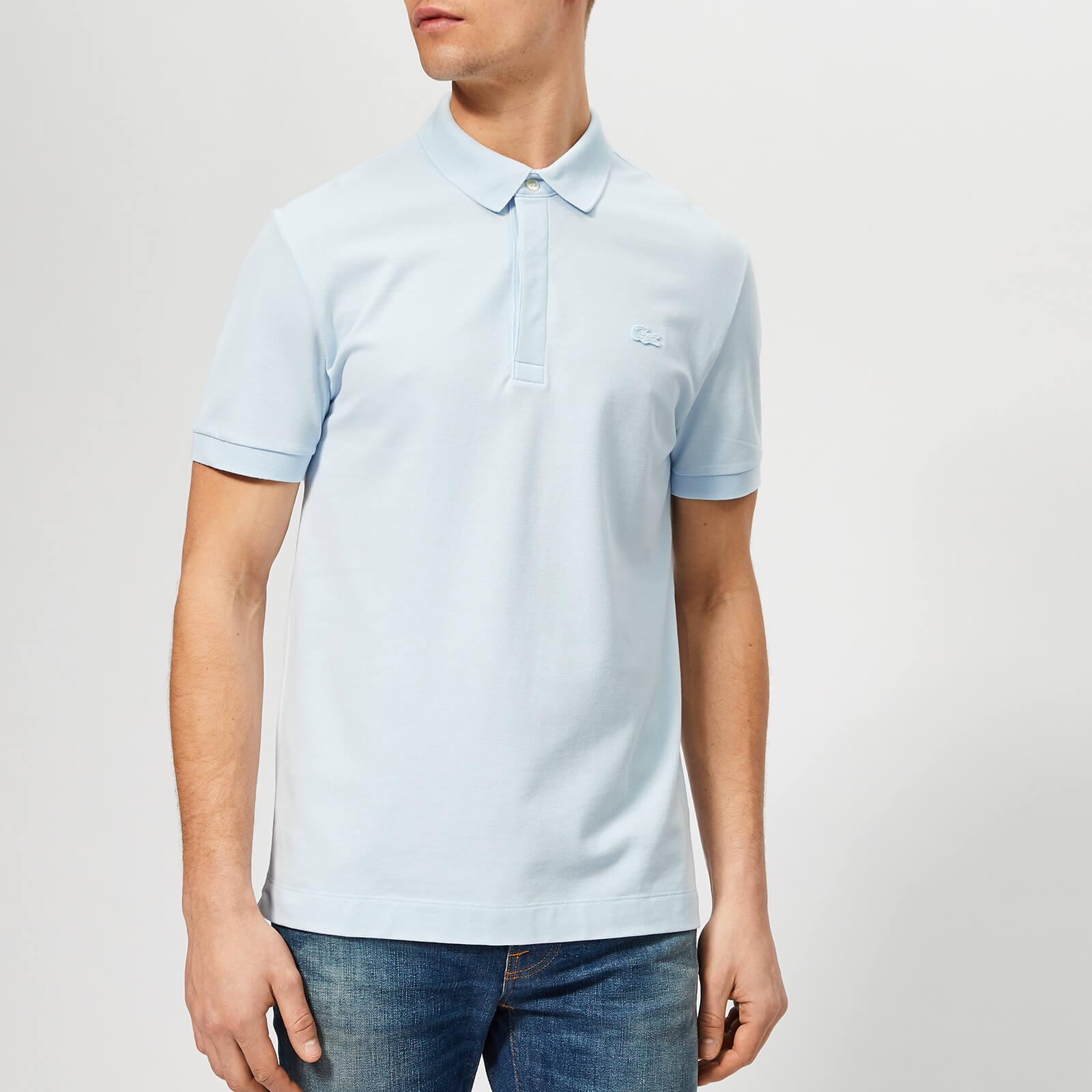 b41e8129 Lacoste Men's Short Sleeve Paris Polo Shirt - Sky - Free UK Delivery over  £50
