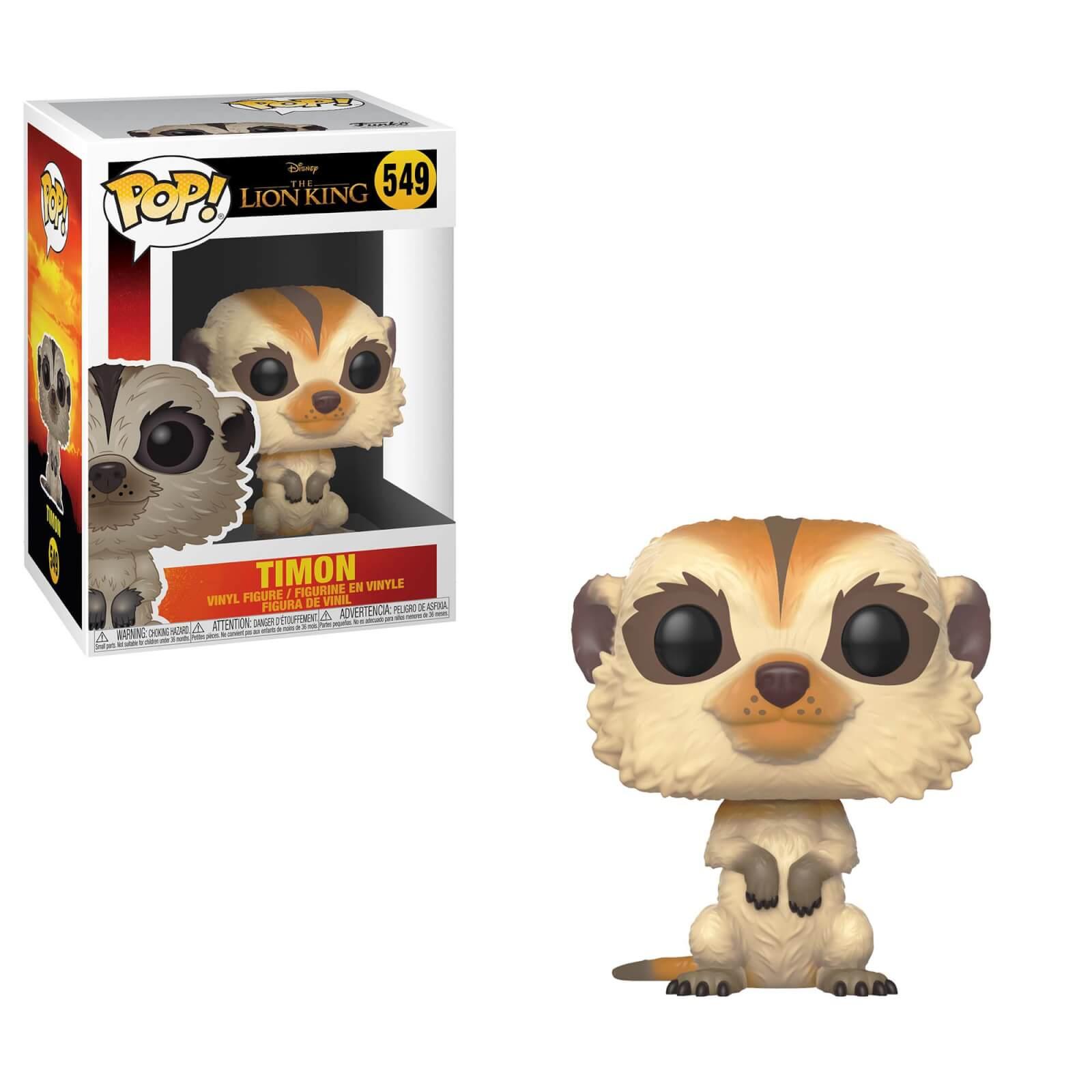 Disney The Lion King 2019 Timon Pop Vinyl Figure