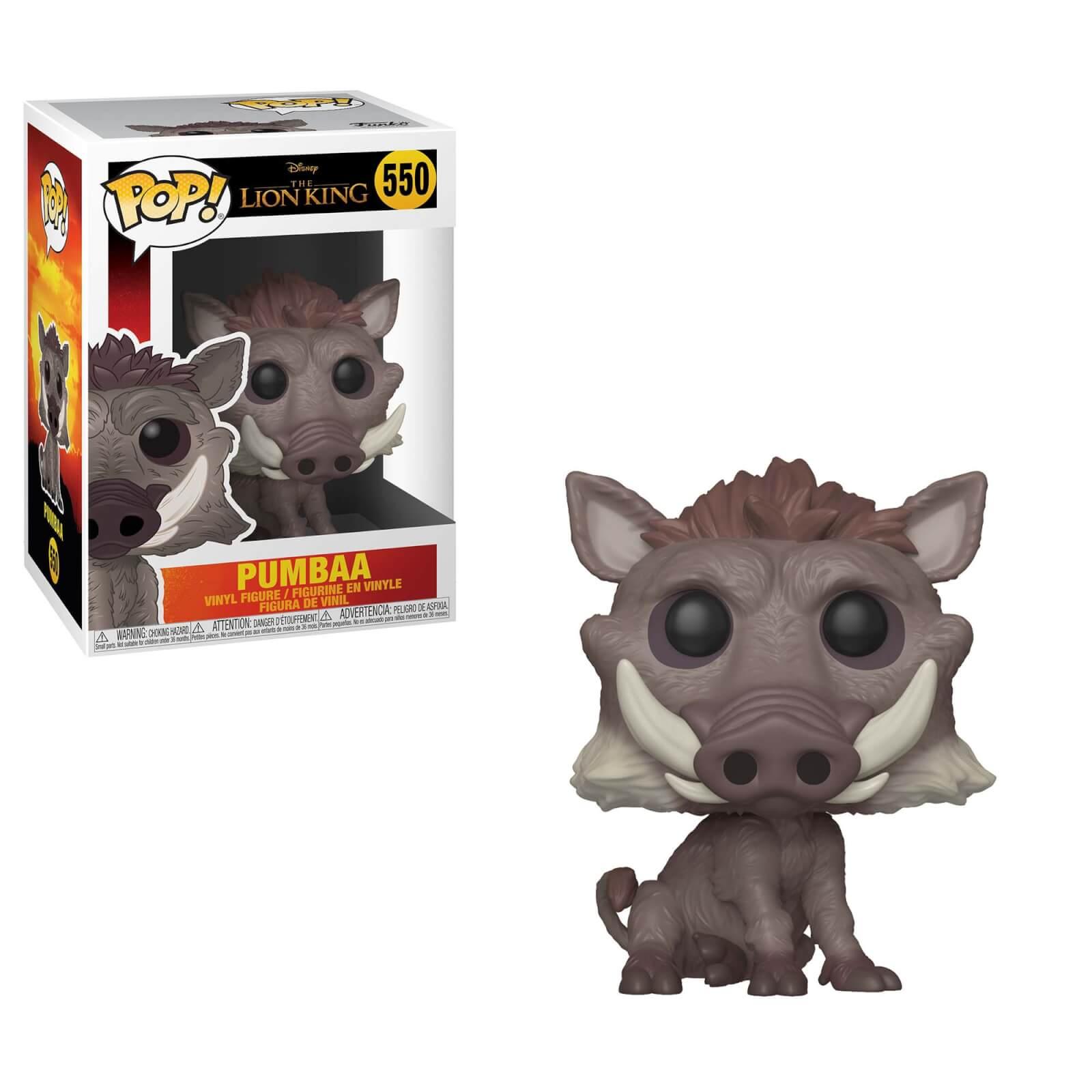 Disney The Lion King 2019 Pumbaa Pop Vinyl Figures