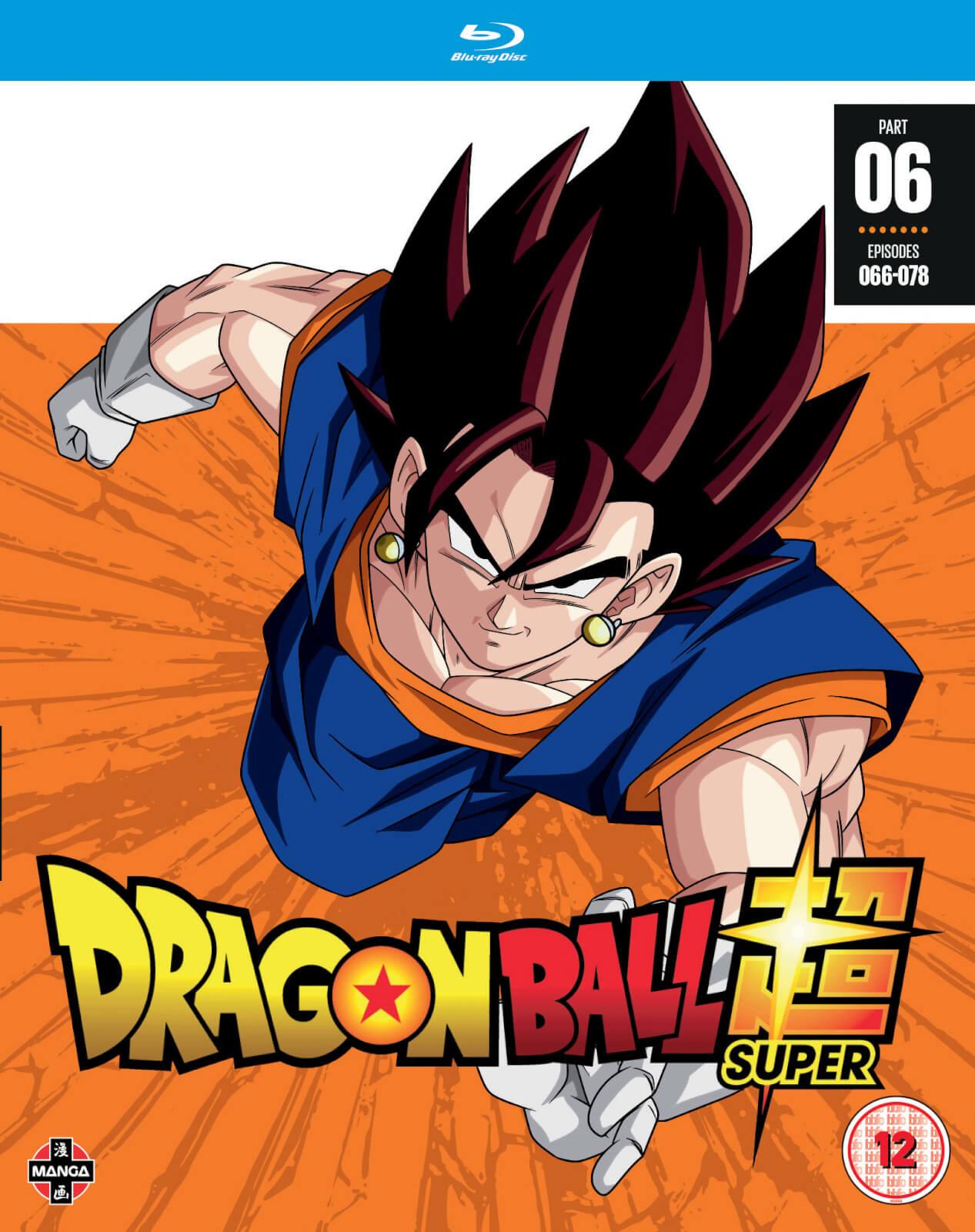 dragon ball super 6  Dragon Ball Super Part 6 (Episodes 66-78) Blu-ray | Zavvi