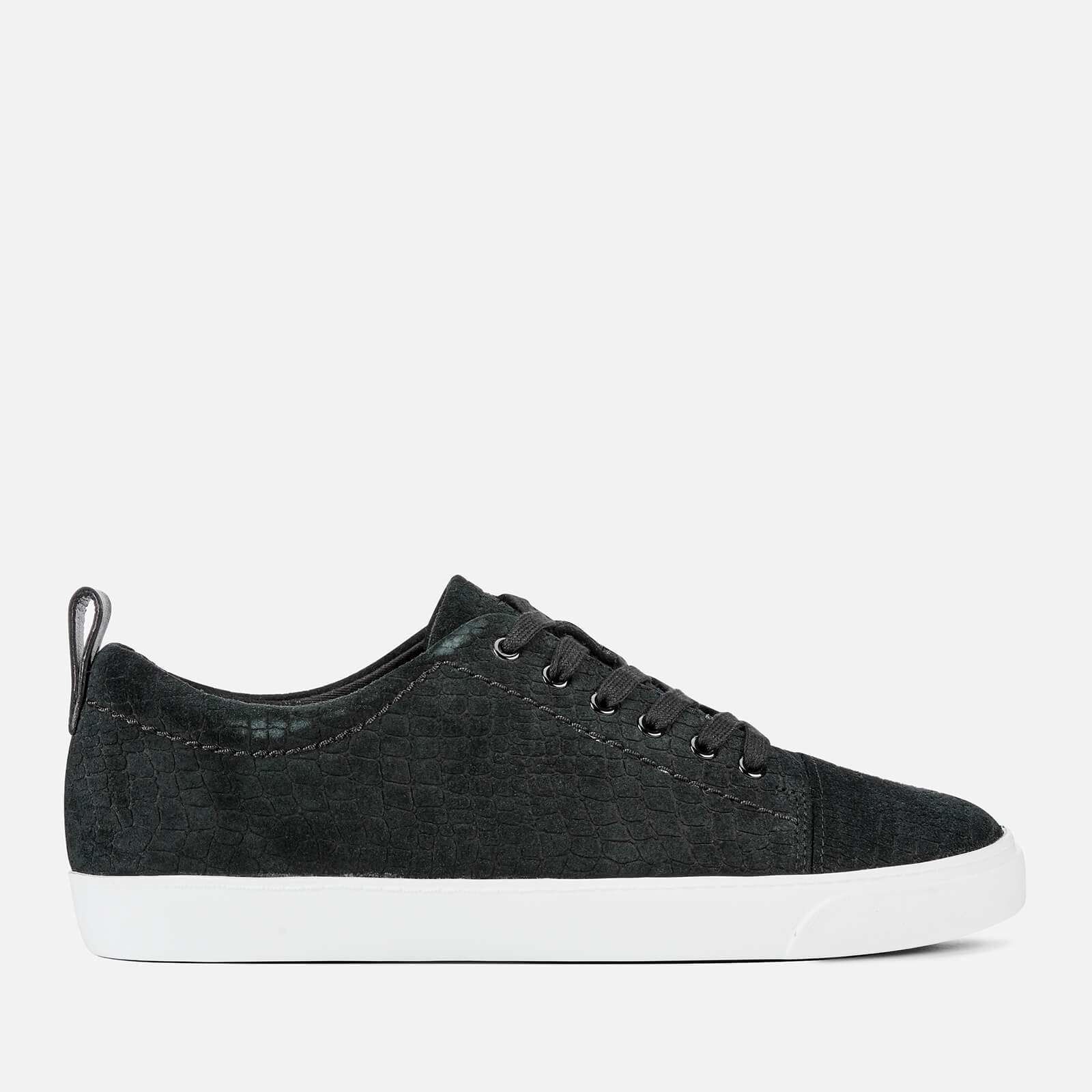 Clarks Women's Glove Echo Low Top Trainers - Black