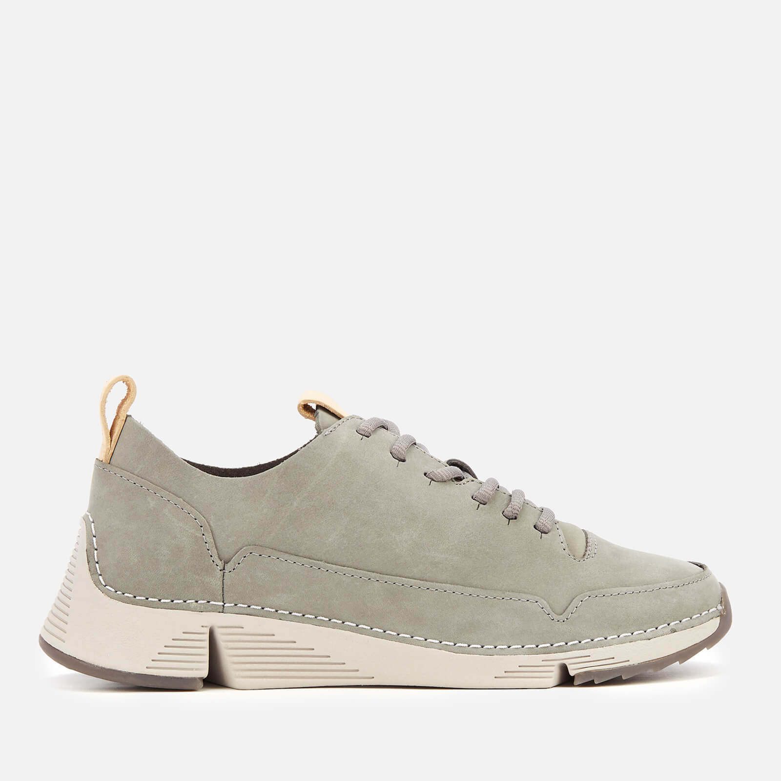 suitable for men/women pick up latest collection Clarks Women's Tri Spark Nubuck Trainers - Grey
