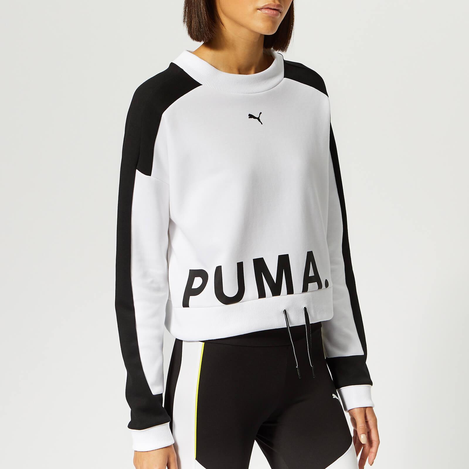 Puma Women's Chase Crew Neck Sweatshirt Puma White Sports