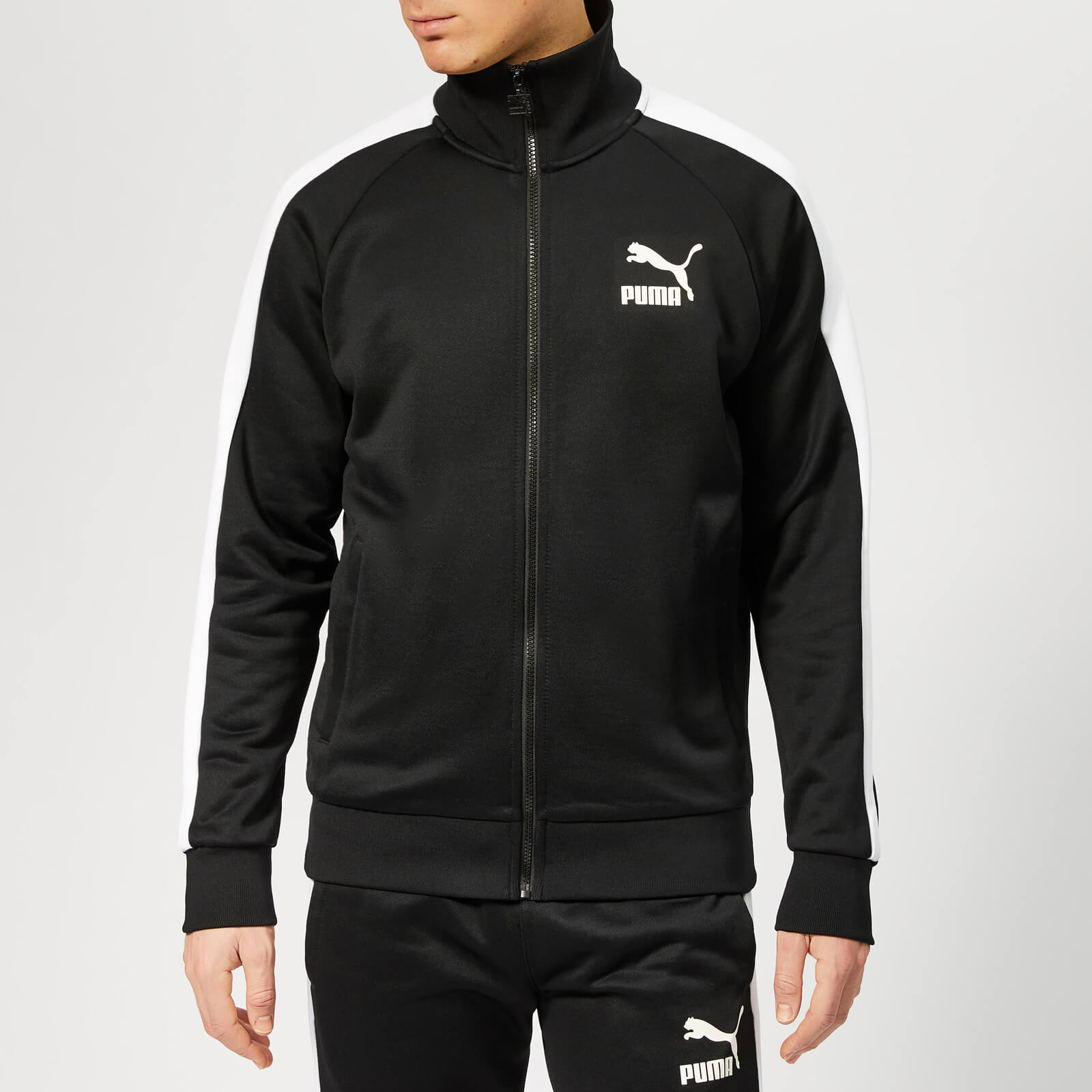 95f74db94e7a Puma Men s Iconic T7 Track Jacket - Puma Black Sports   Leisure ...