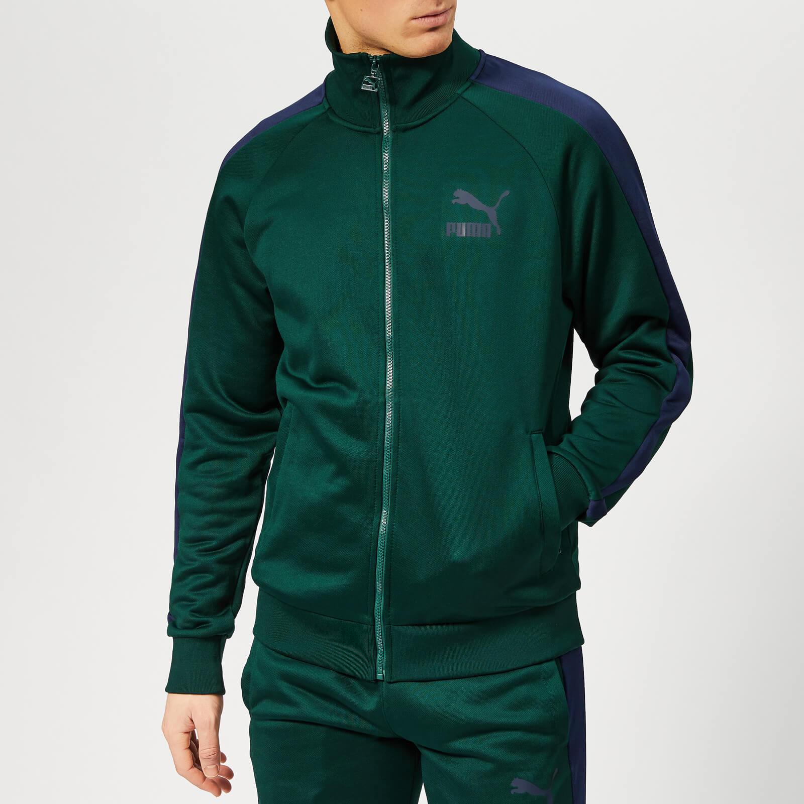 23c9b5e3194b0 Puma Men's Iconic T7 Track Jacket - Ponderosa Pine