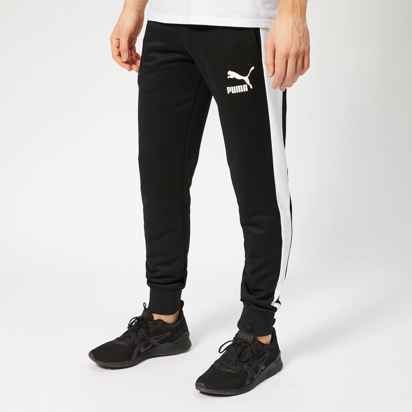 92b224e9 Puma Men's Iconic T7 Track Pants - Puma Black Sports & Leisure | TheHut.com