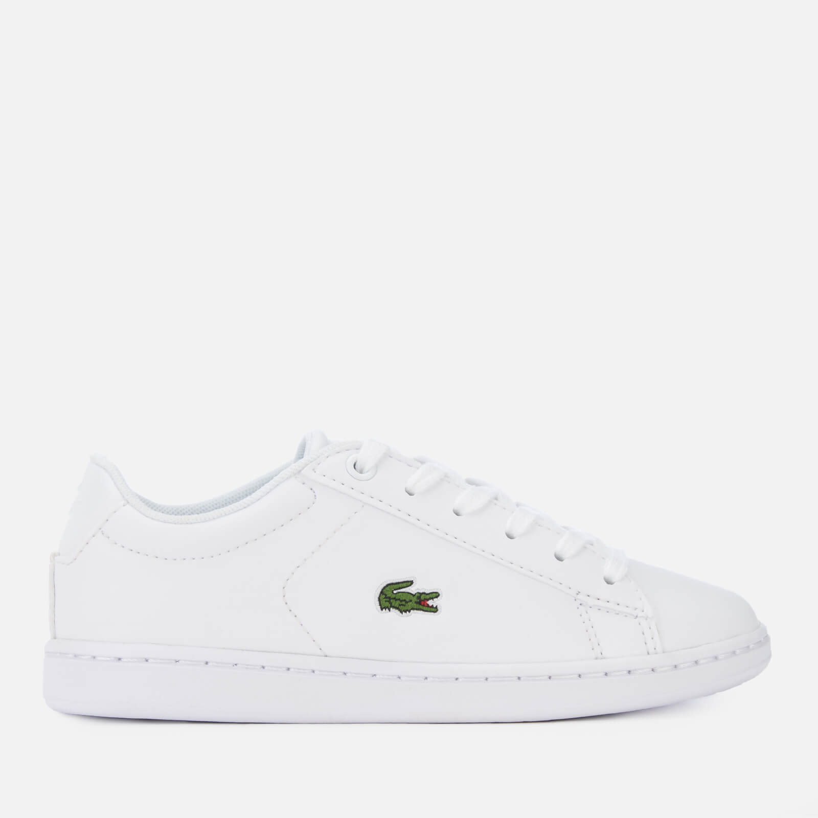 746d08902 Lacoste Kids  Carnaby Evo 119 7 Low Top Trainers - White White ...