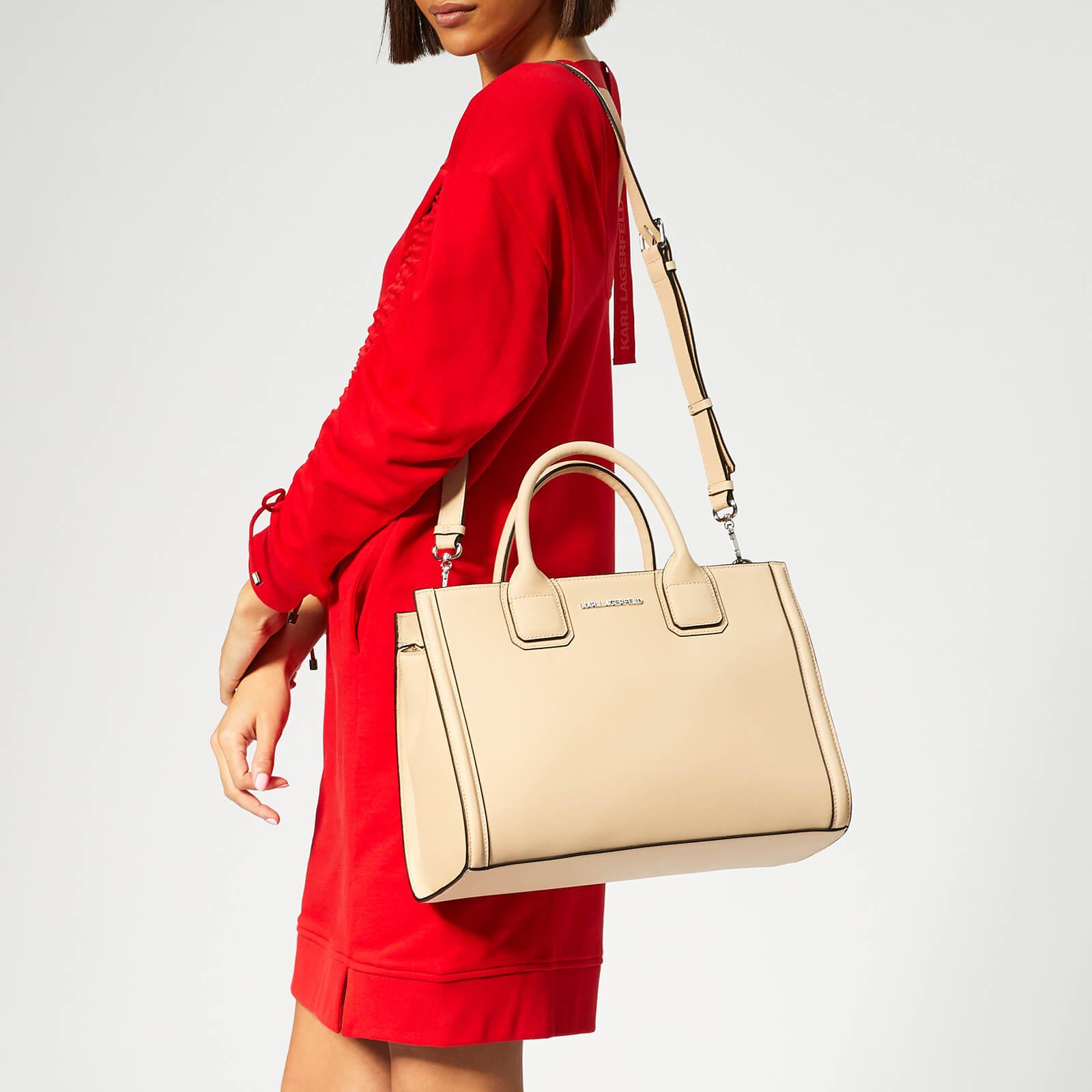Karl Lagerfeld Women's K/Klassik Tote Bag - Biscuit