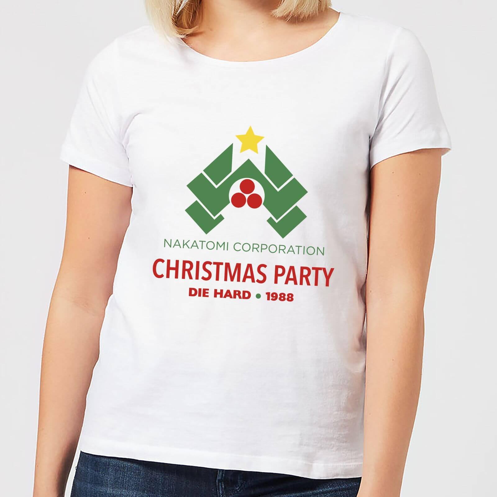 1020e207a Die Hard Nakatomi Christmas Party Women's Christmas T-Shirt - White CD |  Zavvi
