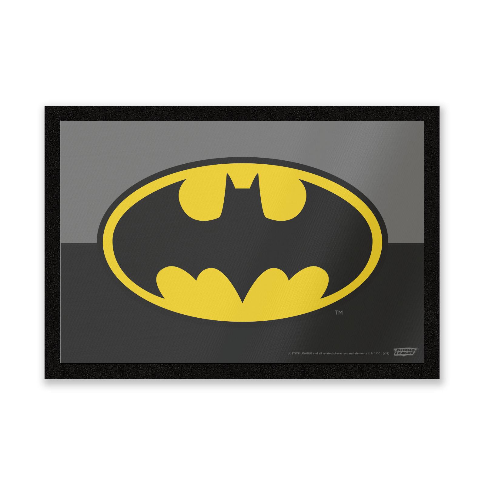 Dc Comics Batman Logo Entrance Mat