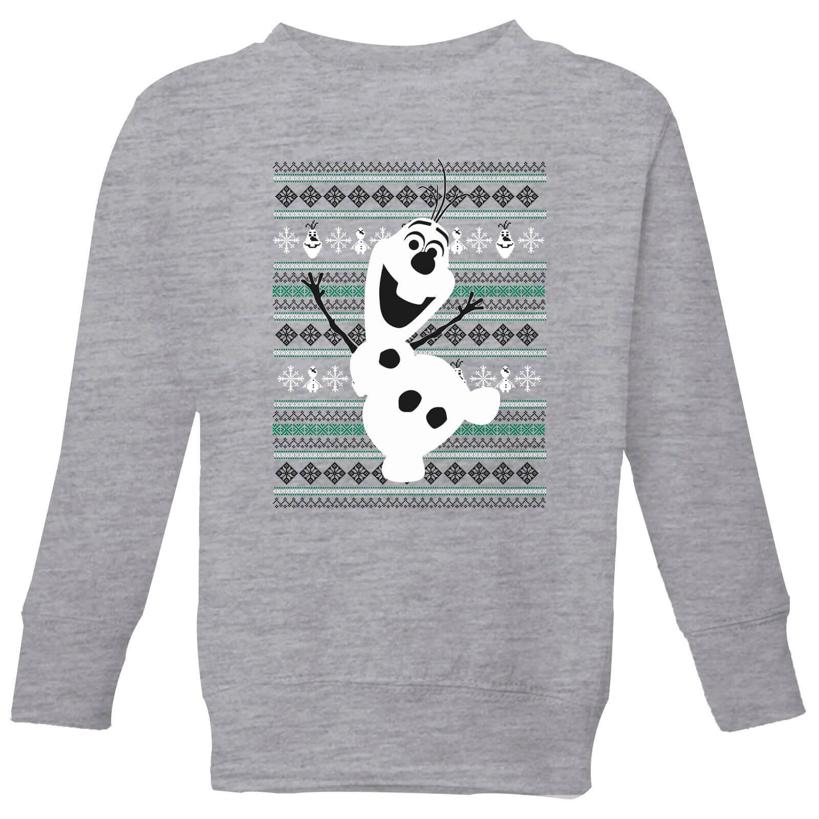 Frozen Olaf Dancing Kids\' Christmas Sweatshirt - Grey Clothing ...