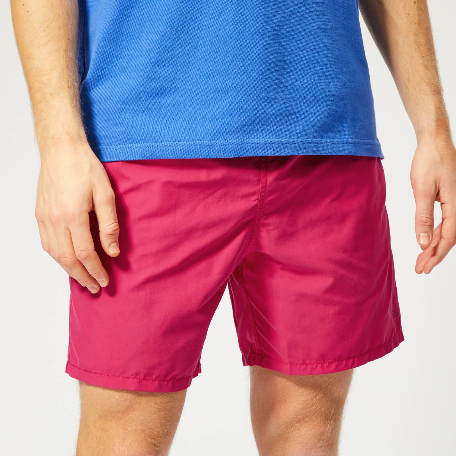 699e051fa4 Vilebrequin Men's Moorea Water Reactive Swim Shorts - Gooseberry Red