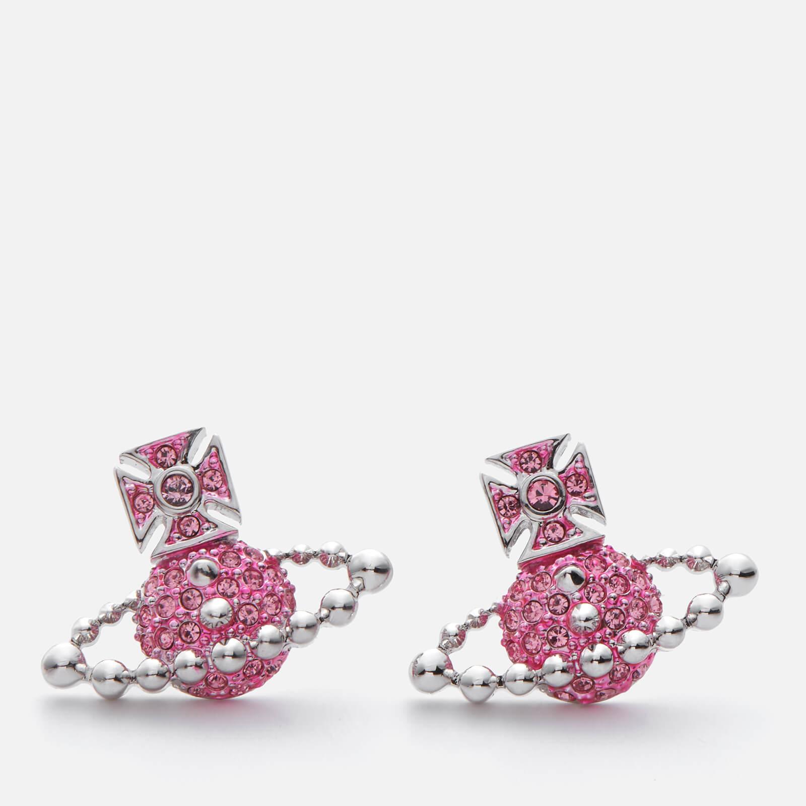 065f35cb00e0bd Vivienne Westwood Women's Lena Bas Relief Earrings - Light Rose ...