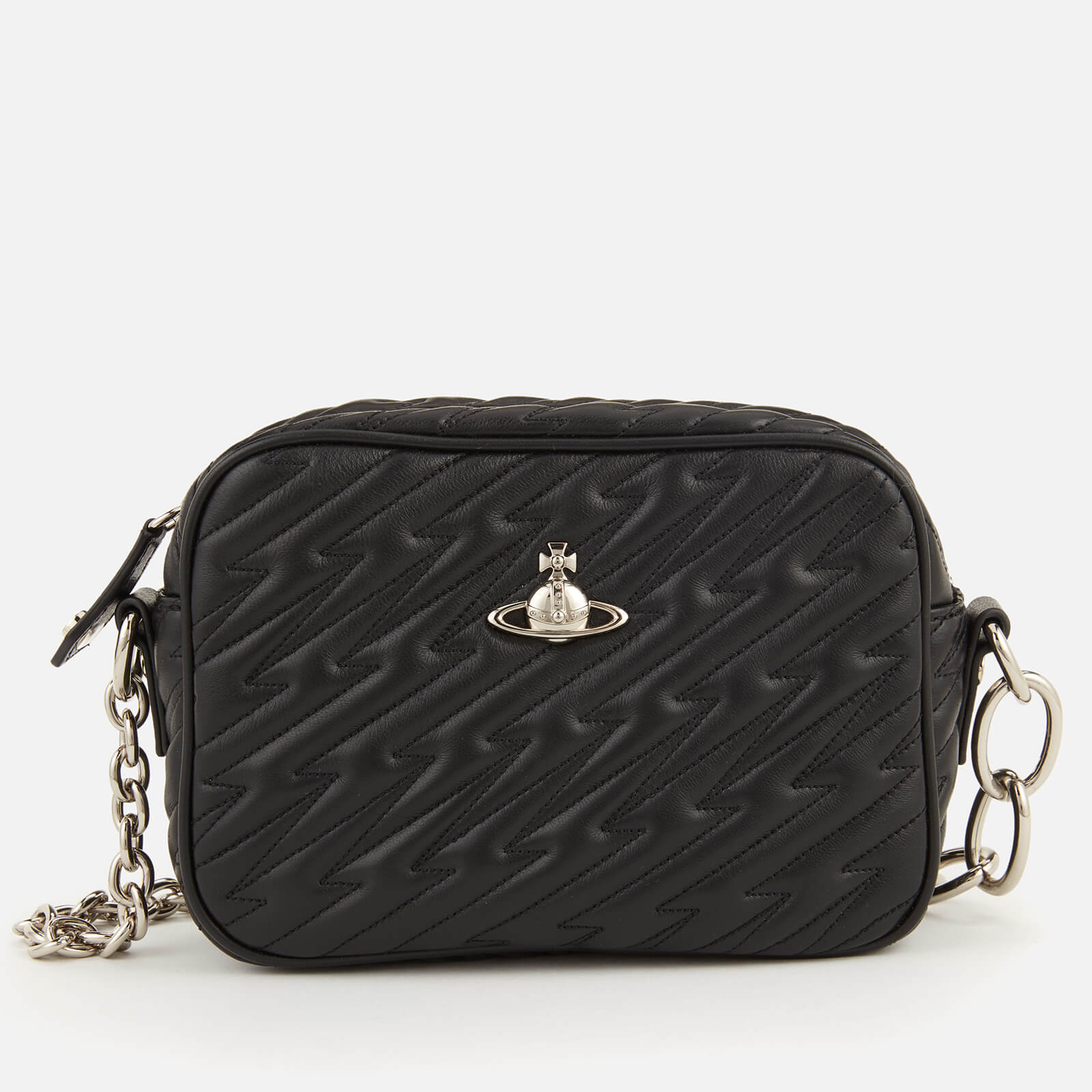 7441b697ff Vivienne Westwood Women's Coventry Camera Bag - Black - Free UK Delivery  over £50