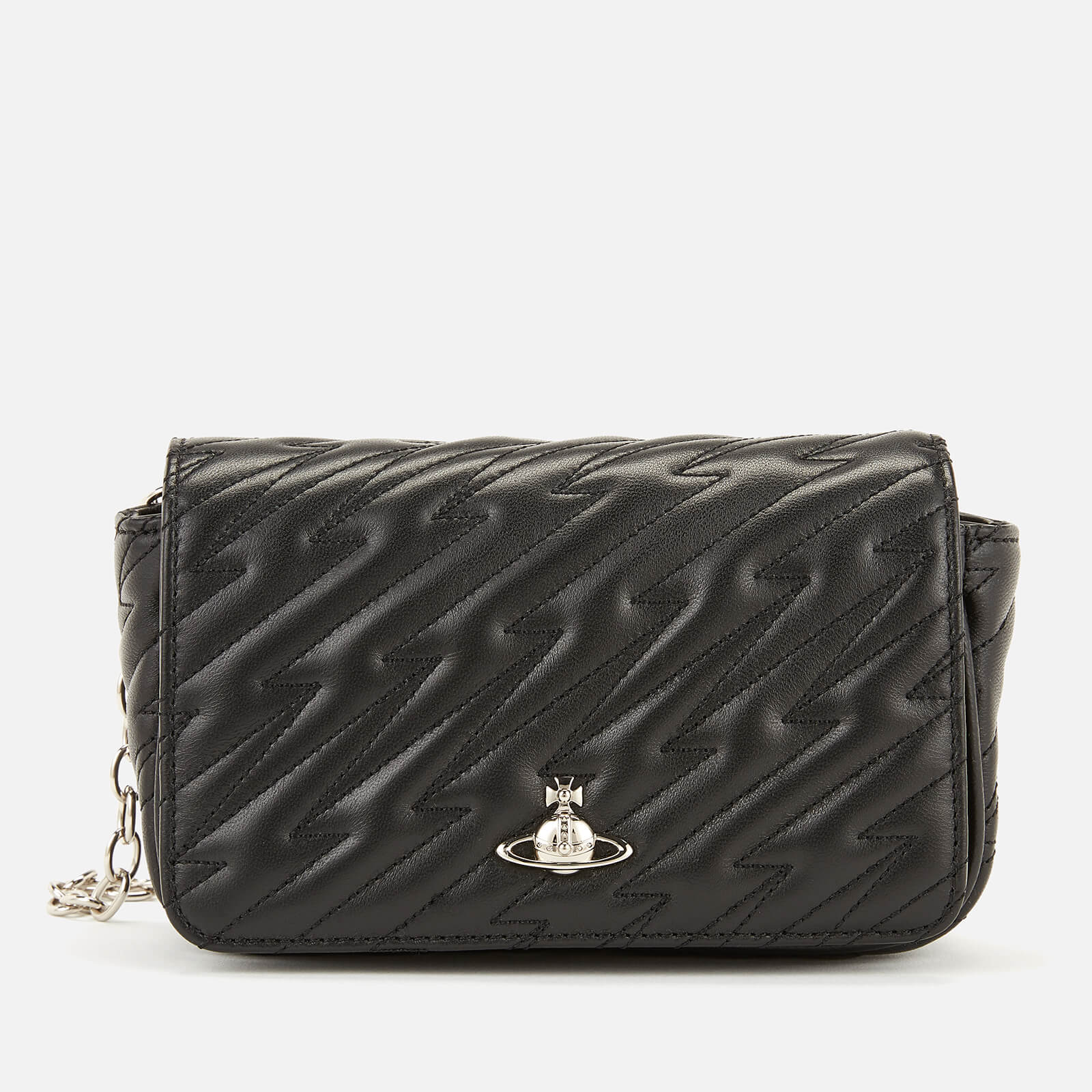 3ec96a72b617 Vivienne Westwood Women's Coventry Mini Cross Body Bag - Black - Free UK  Delivery over £50