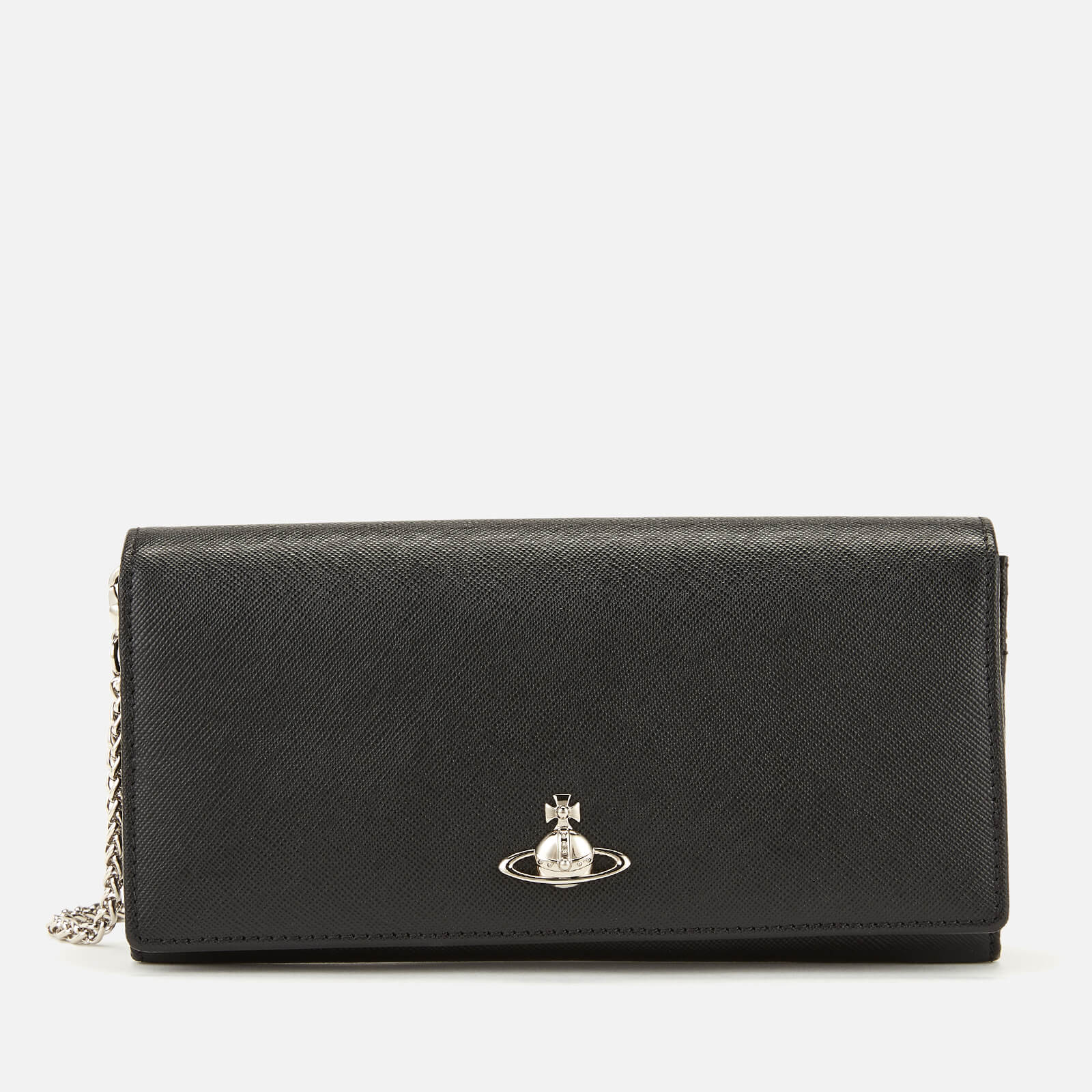 d612e4fe65c8 Vivienne Westwood Women's Pimlico Long Wallet with Chain - Black