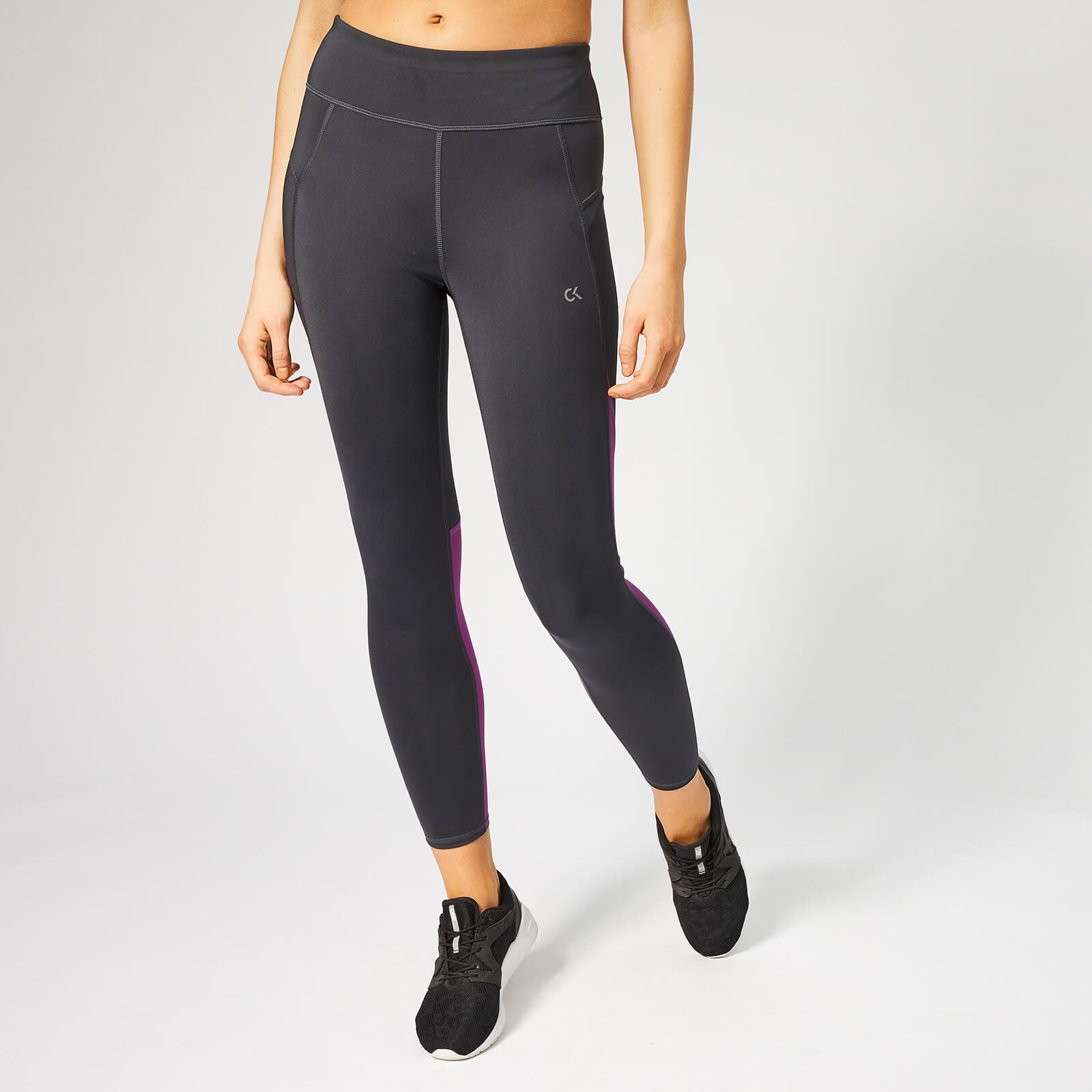 4974ce5157b85b Calvin Klein Performance Women's 7/8 Tights - Gunmetal/Sparkling Grape  Sports & Leisure | TheHut.com