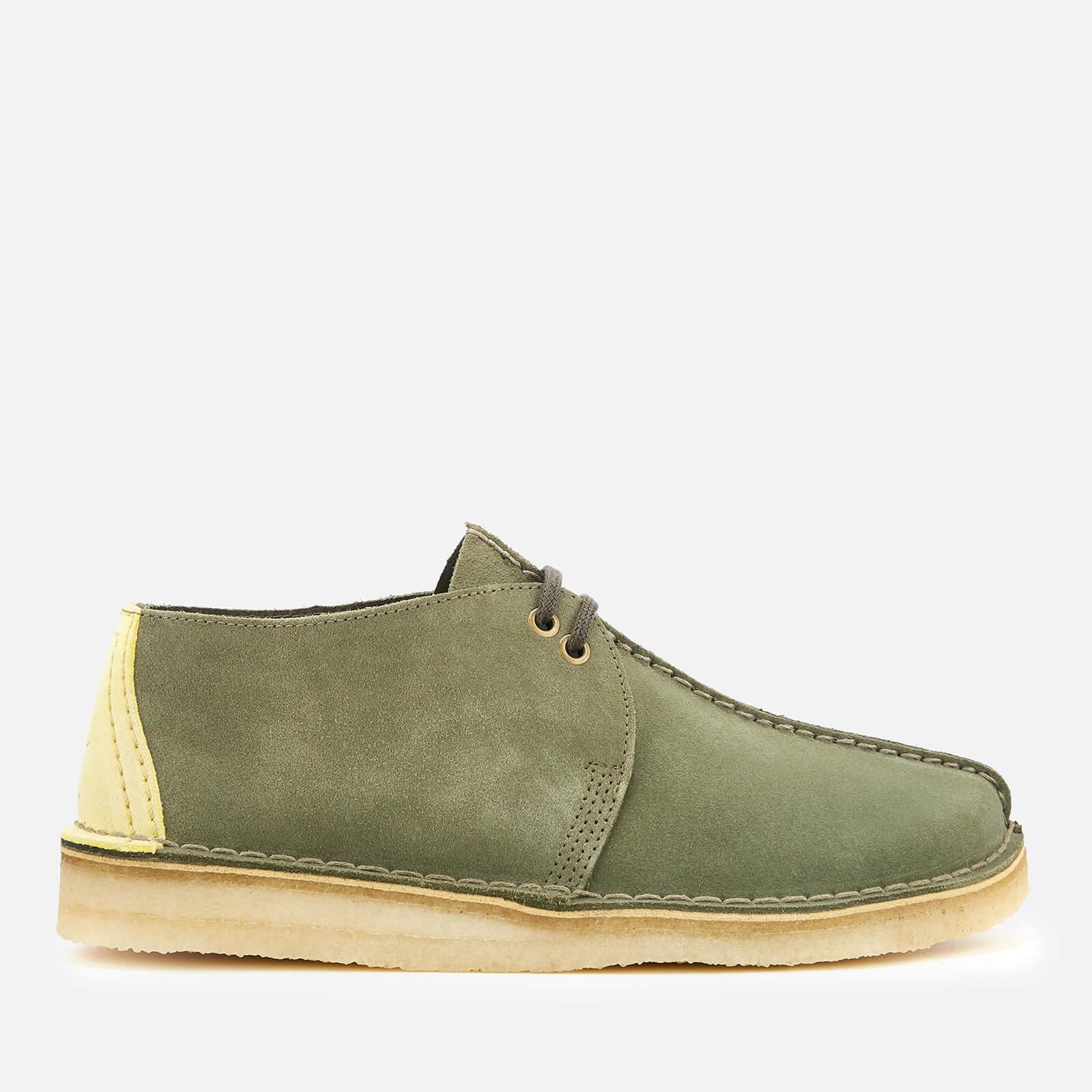 Clarks Originals Men's Desert Trek Suede Shoes Sage