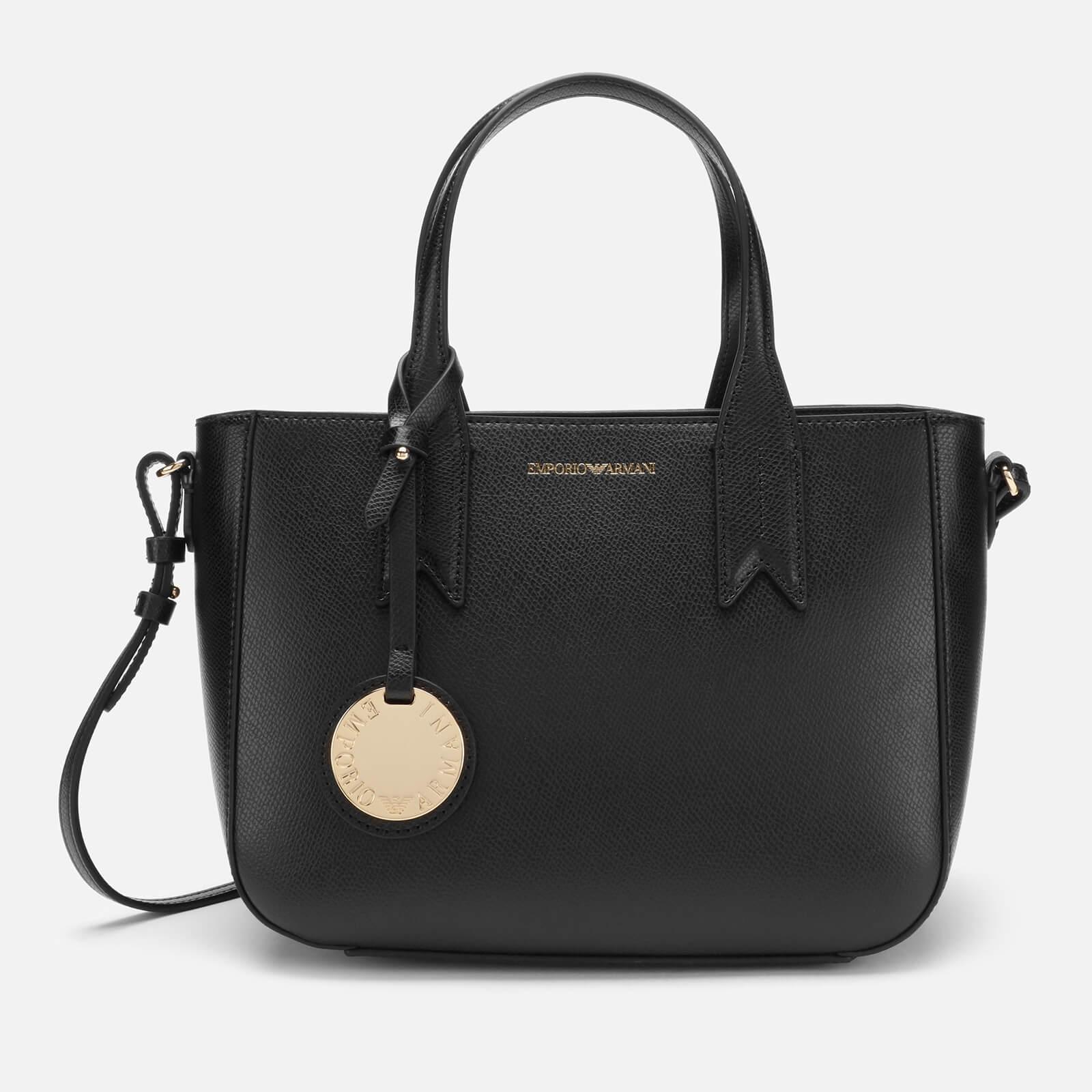 615885cd8d Emporio Armani Women's Tote Bag - Nero/Rosso