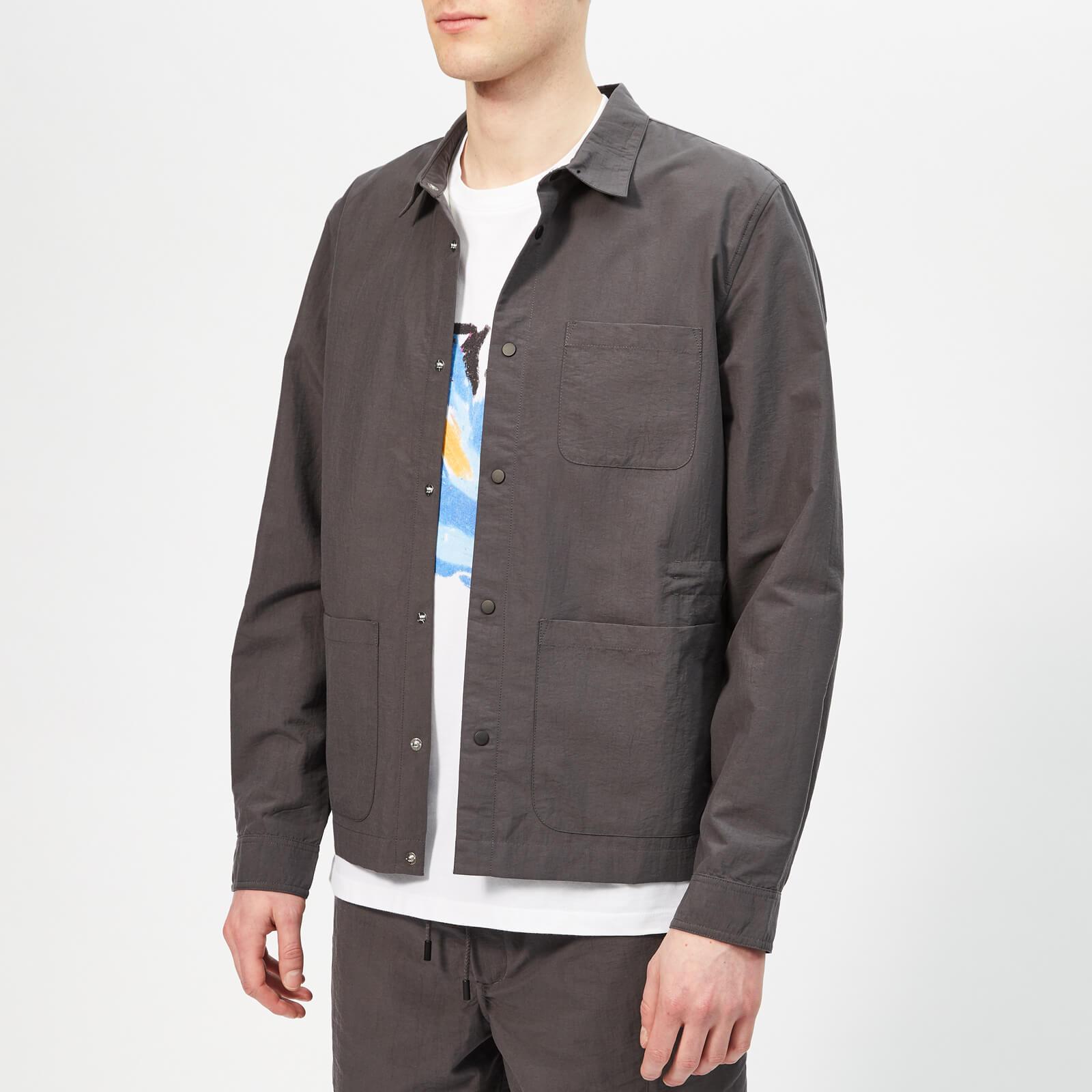 67a670025 Folk Men's Painters Jacket - Graphite