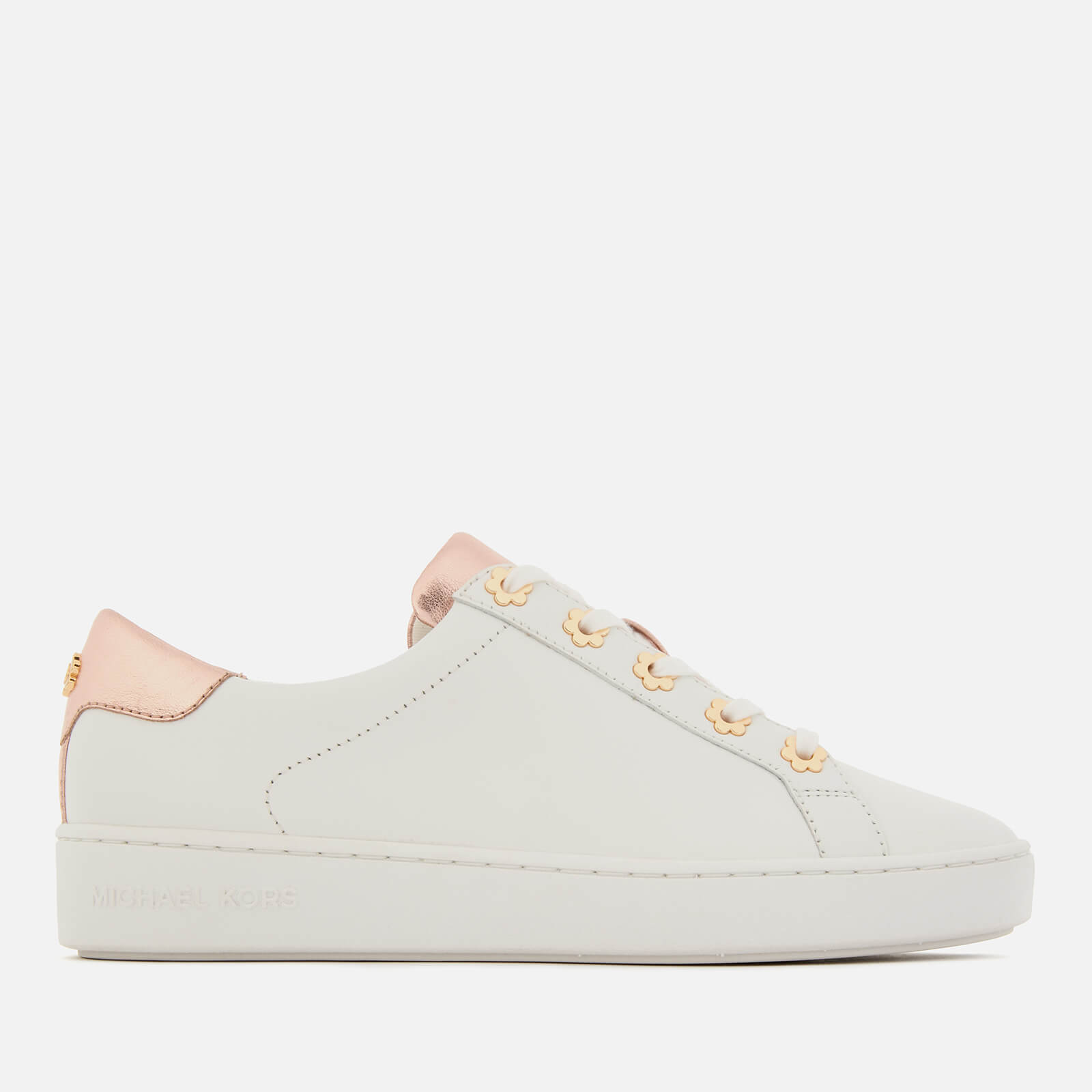 4db7c0b7acf8 MICHAEL MICHAEL KORS Women s Irving Cupsole Trainers - Optic Rose Gold  Womens Footwear