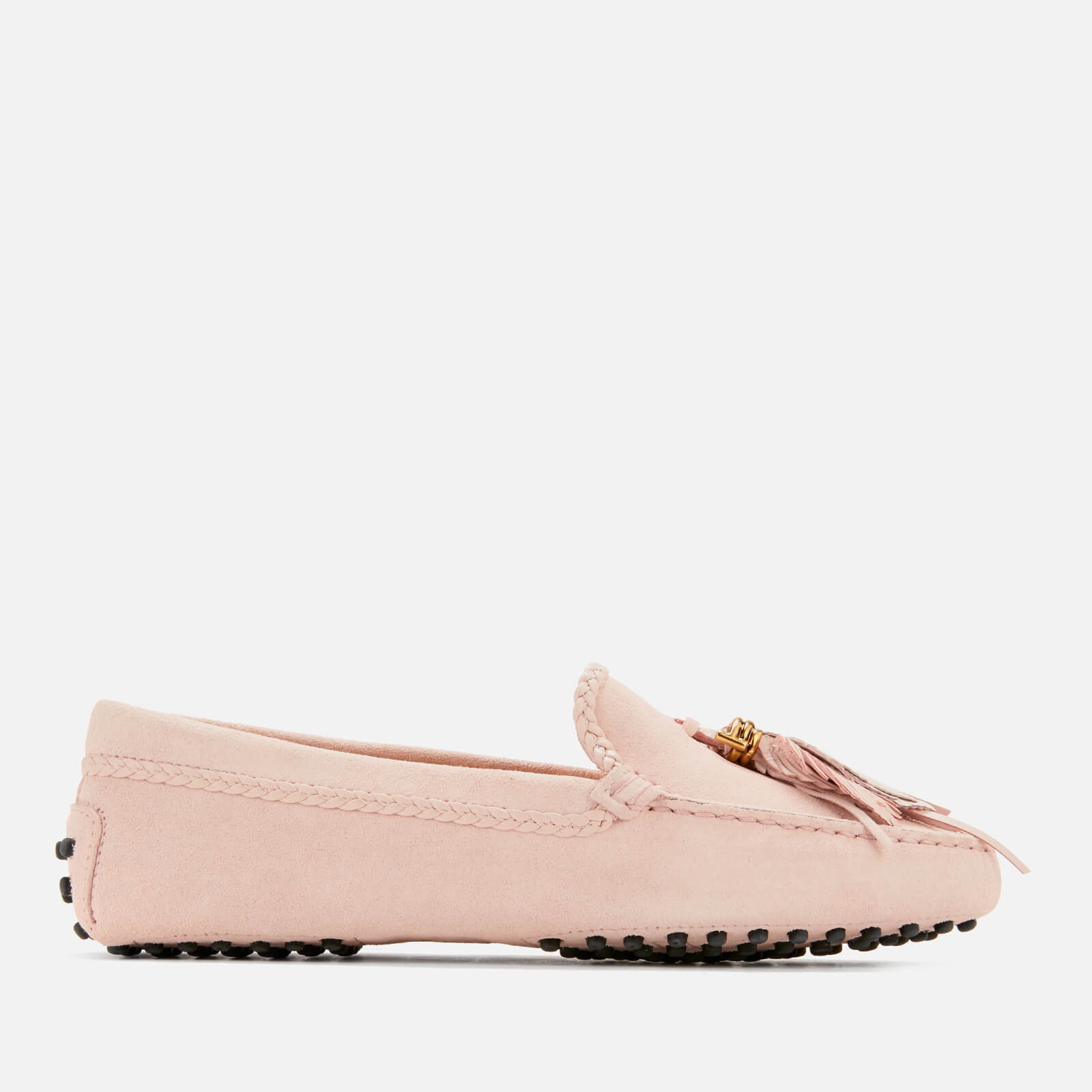 5315ce6937d Tod s Women s Gommino Feather Moccasin Shoes - Glove - Free UK Delivery  over £50