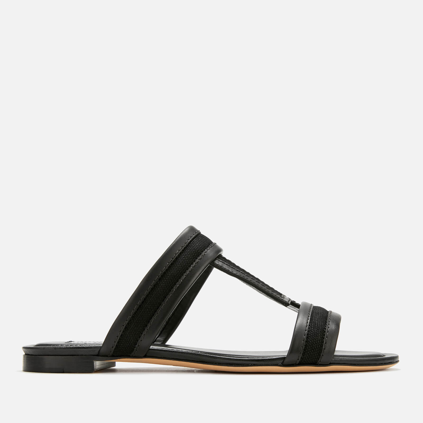 f74dbf8796fb Tod s Women s Mule Flat Sandals - Nero - Free UK Delivery over £50