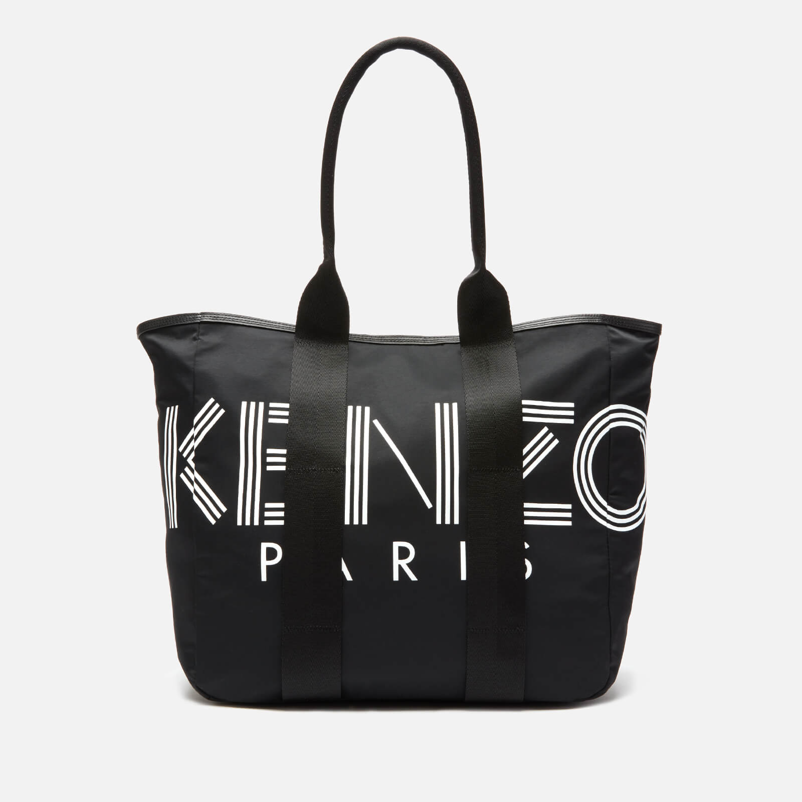 8bc00c5e9e7 KENZO Women's Large Nylon Paris Logo Tote Bag - Black
