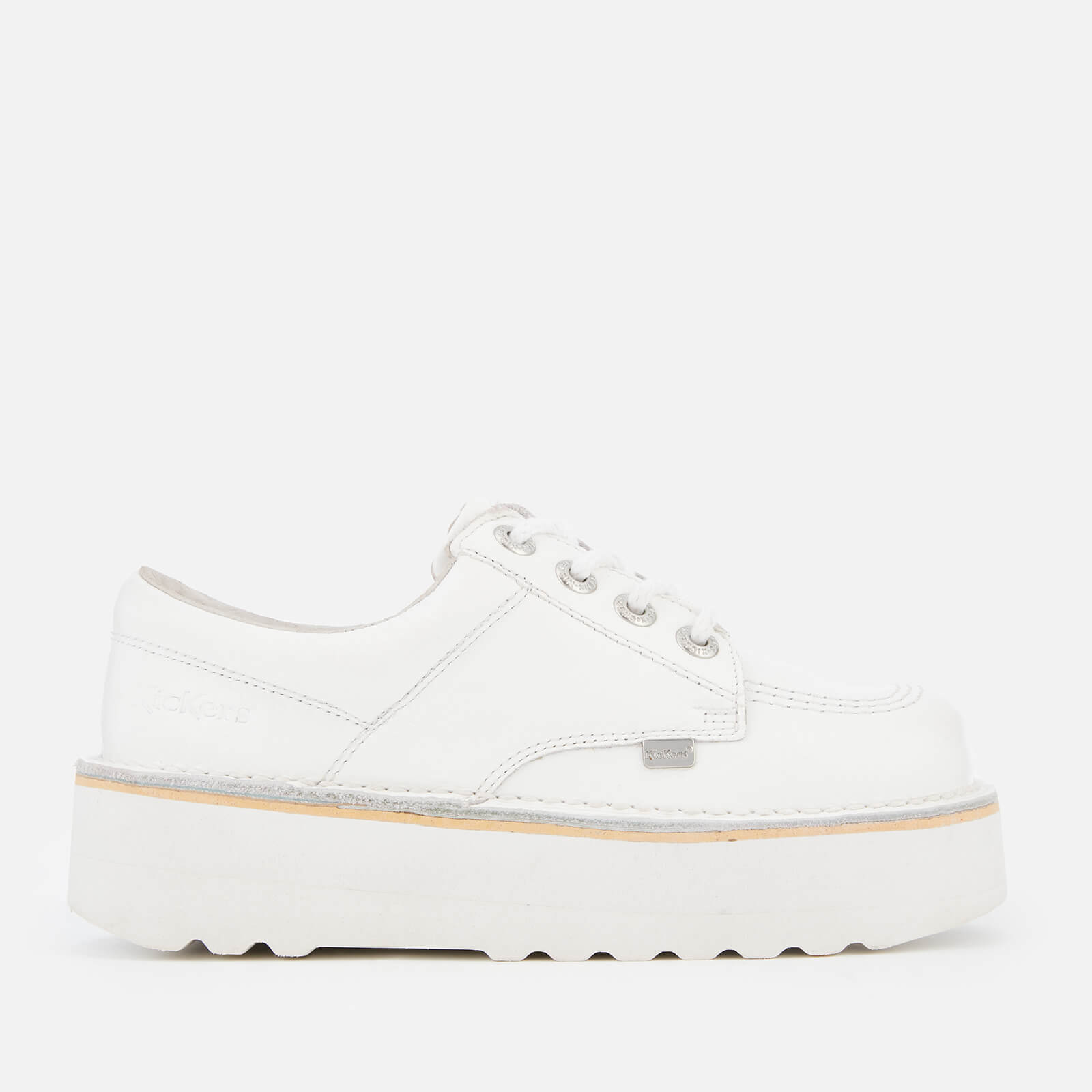 online retailer sale usa online attractive price Kickers Women's Kick Lo Stack Shoes - White/Metallic