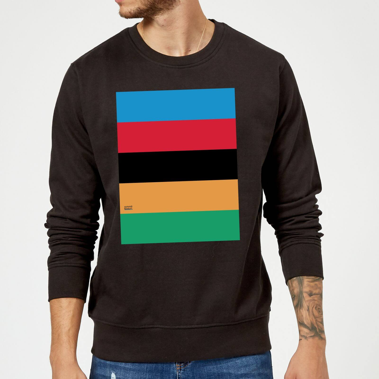 Summit Finish World Champion Stripes Sweatshirt - Black | Trøjer