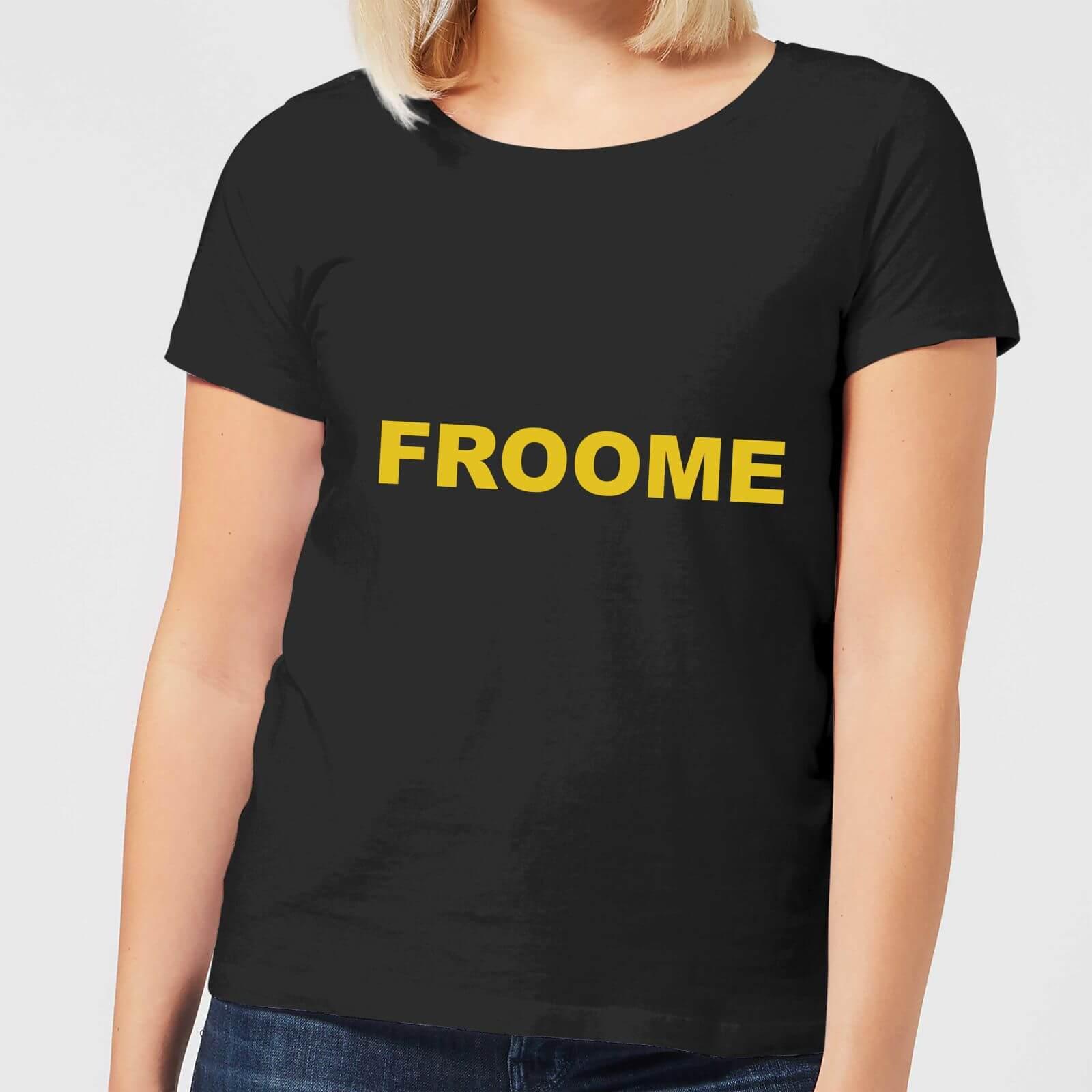 941f76c9 Summit Finish Froome - Rider Name Women's T-Shirt - Black | IWOOT
