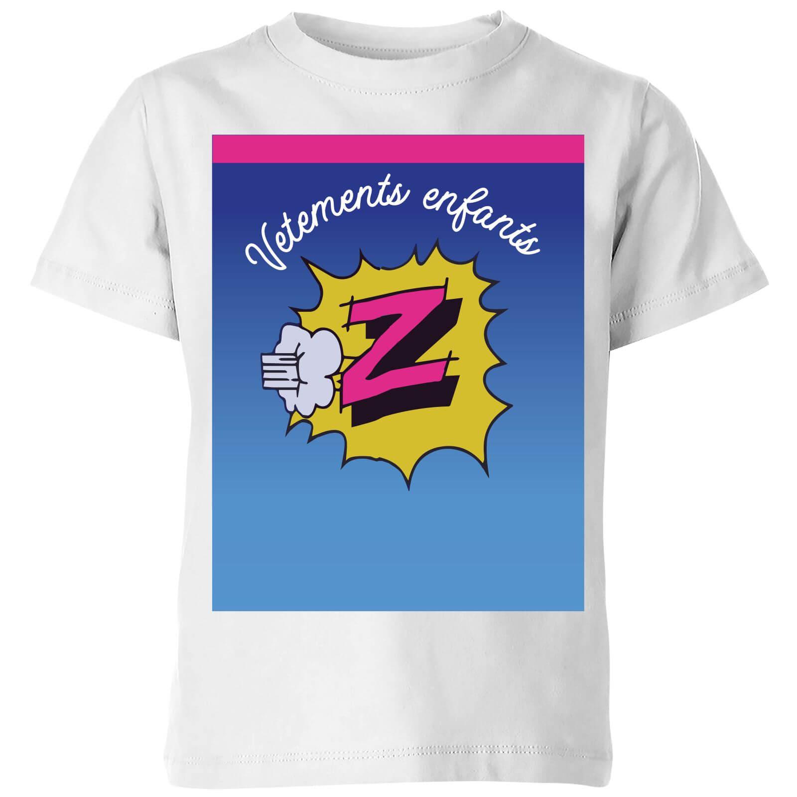 d4c6d922 Summit Finish Z Vetements Kids' T-Shirt - White Clothing | Zavvi ...