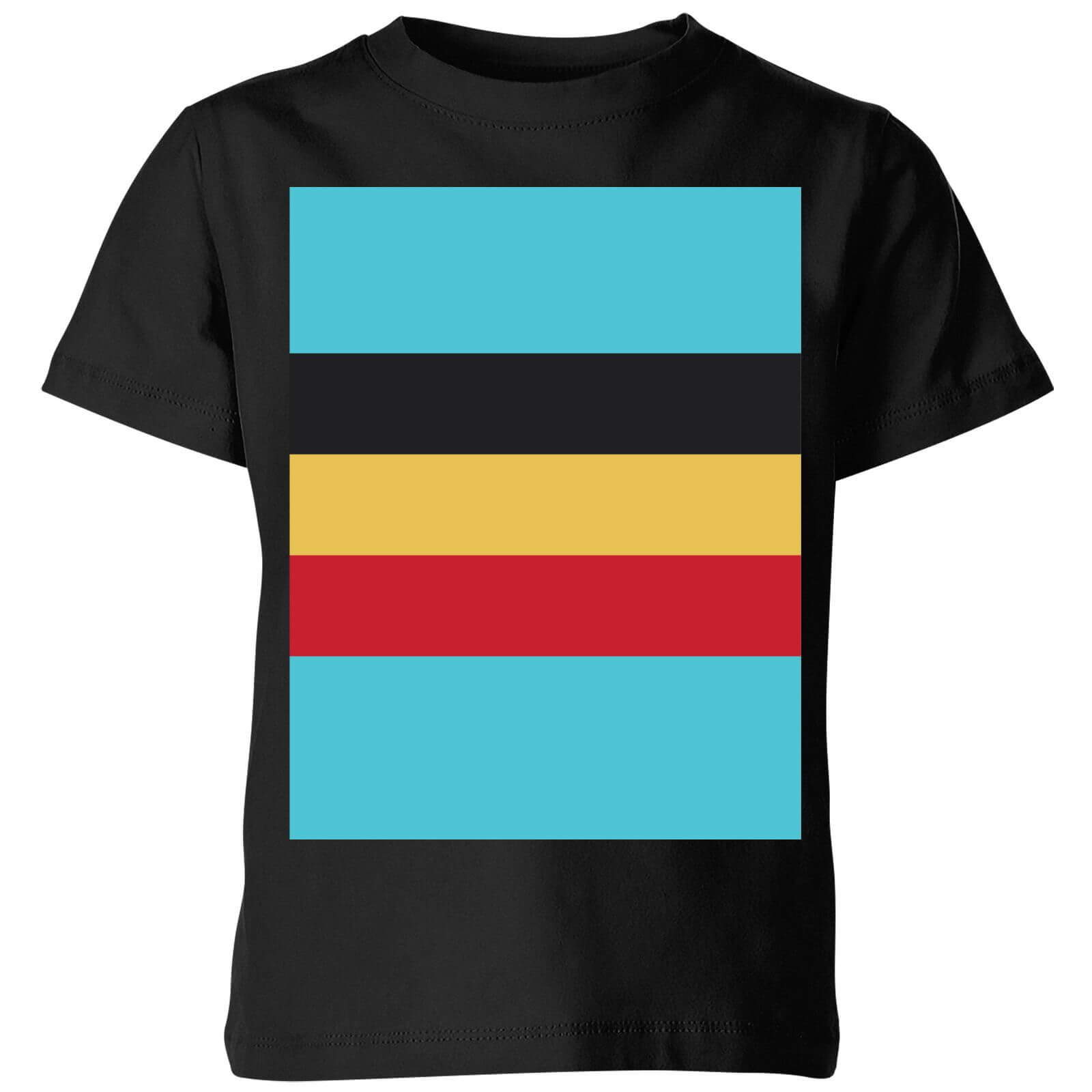 Summit Finish Belgium Flag Kids' T-Shirt - Black | Trøjer