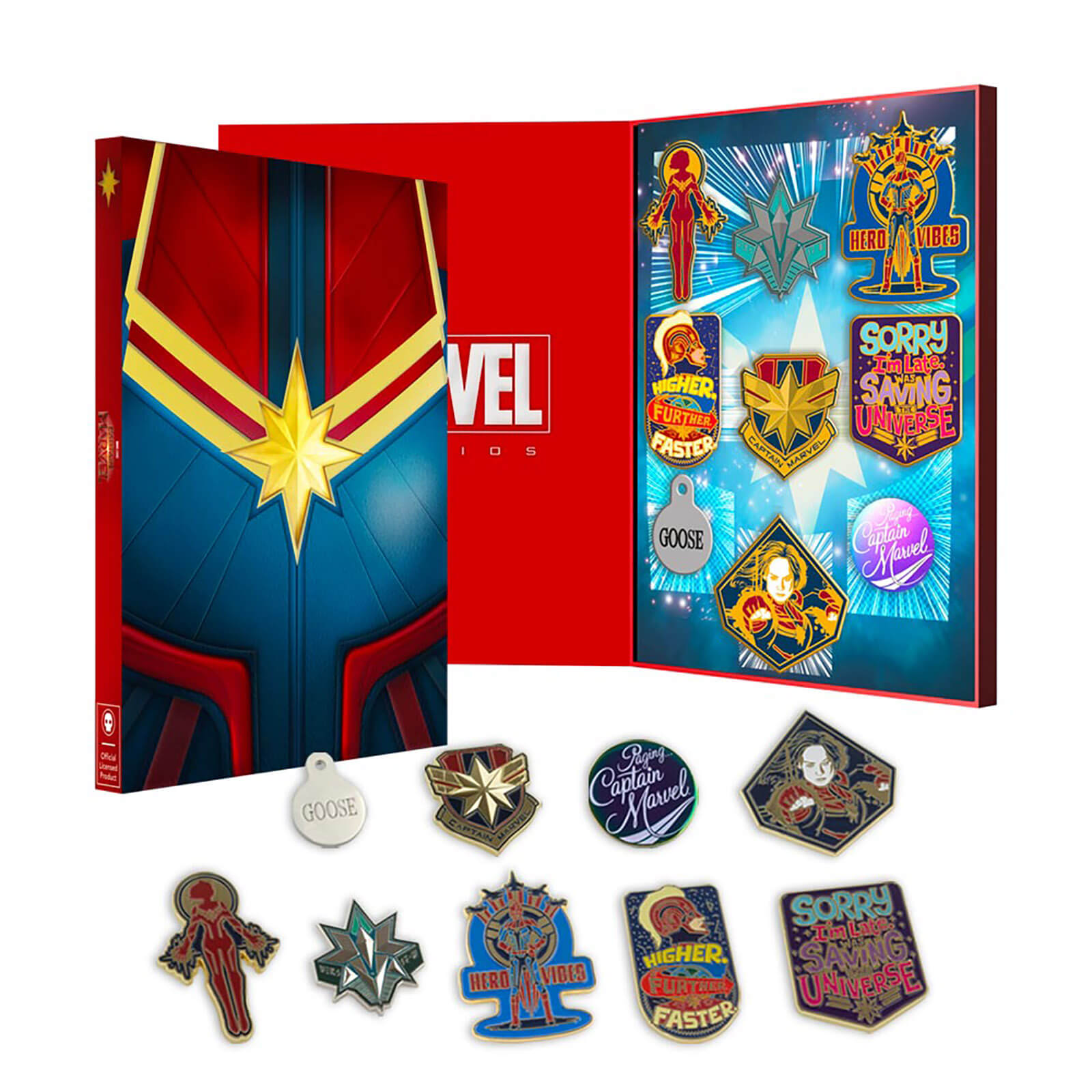 DC Comics Suicide Squad Pin Badge ZBOX Exclusive