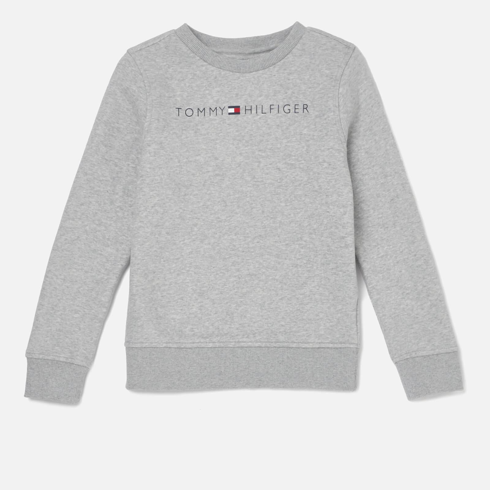 2bd19baa Tommy Hilfiger Boys' Essential Tommy Logo Sweatshirt - Grey Heather Clothing  | TheHut.com