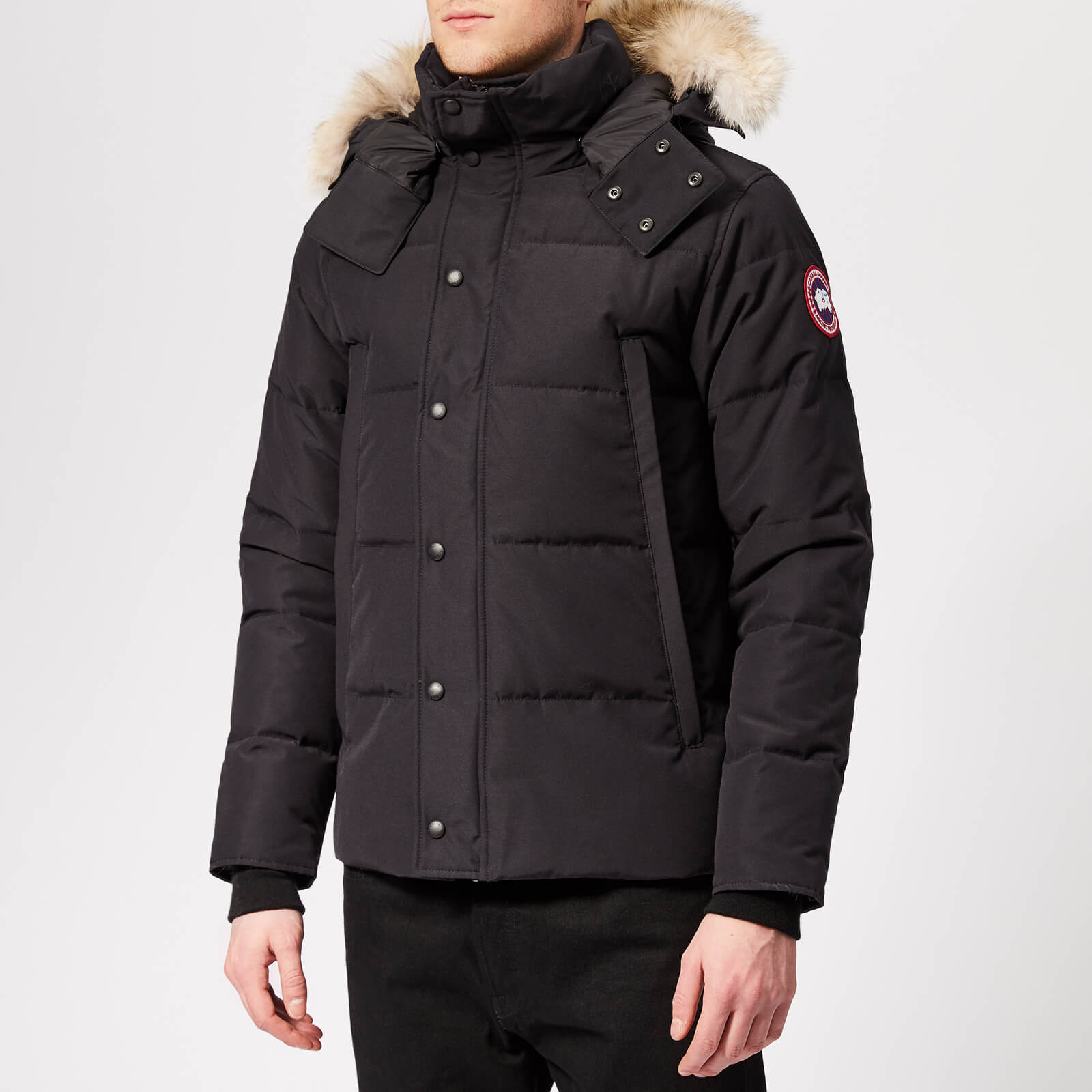 3265505ed57 Canada Goose Men's Wyndham Parka - Fusion Fit - Navy - Free UK Delivery  over £50