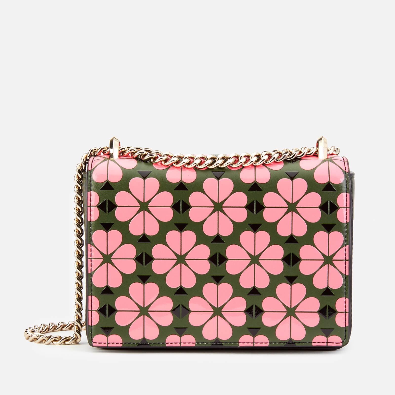 Kate Spade New York Women S Amelia Flower Small Shoulder Bag Bright Pink Multi
