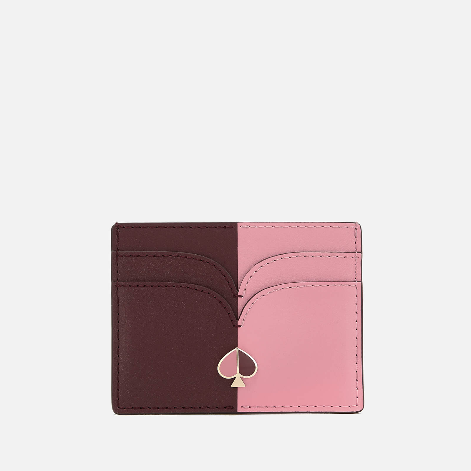 Kate Spade New York Women's Nicola Bi Colour Card Holder - Roasted Fig/Rococo Pink 原價75英鎊 優惠價53