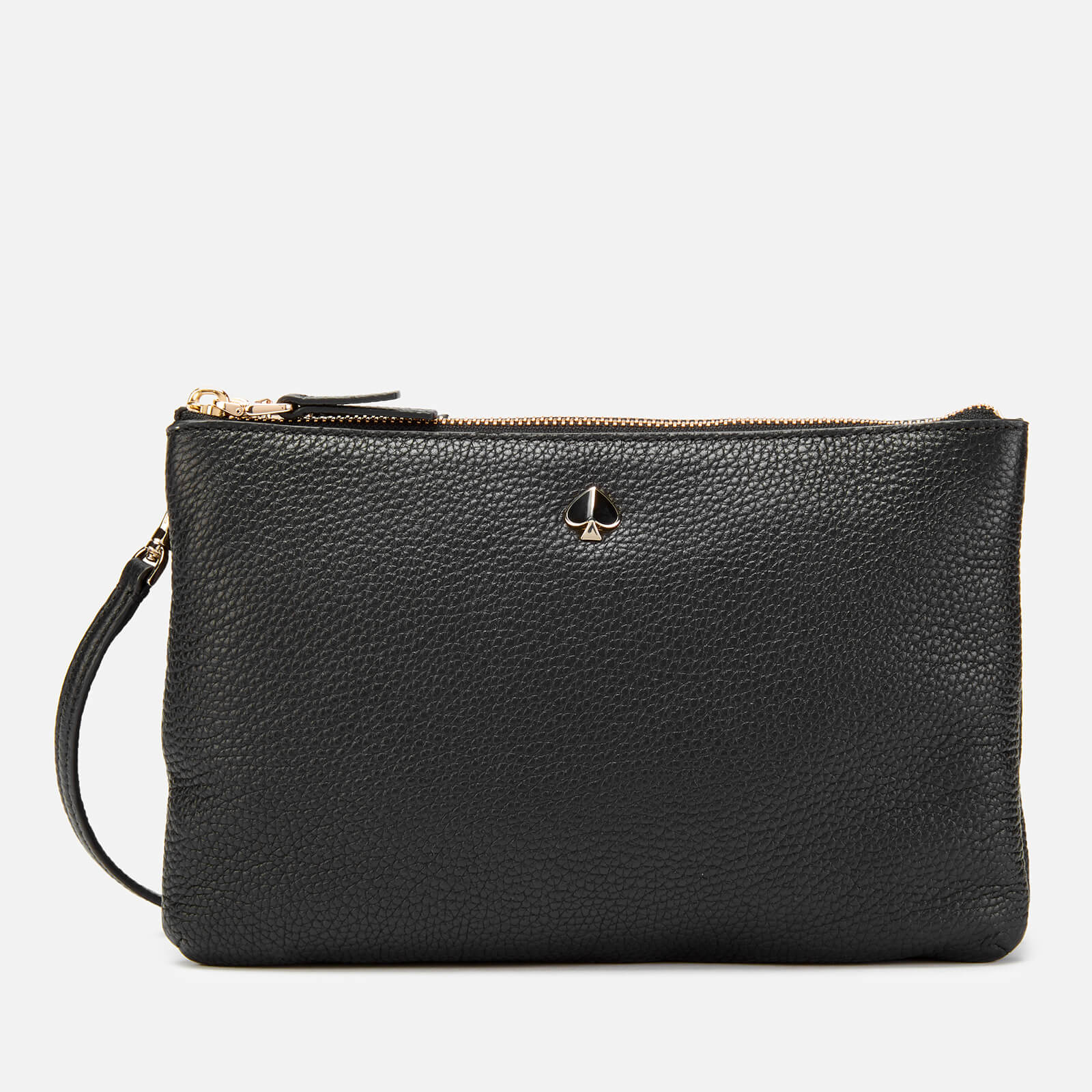 Kate Spade New York Women's Medium Double Gusset Cross Body Bag - Black 原價225英鎊 優惠價135