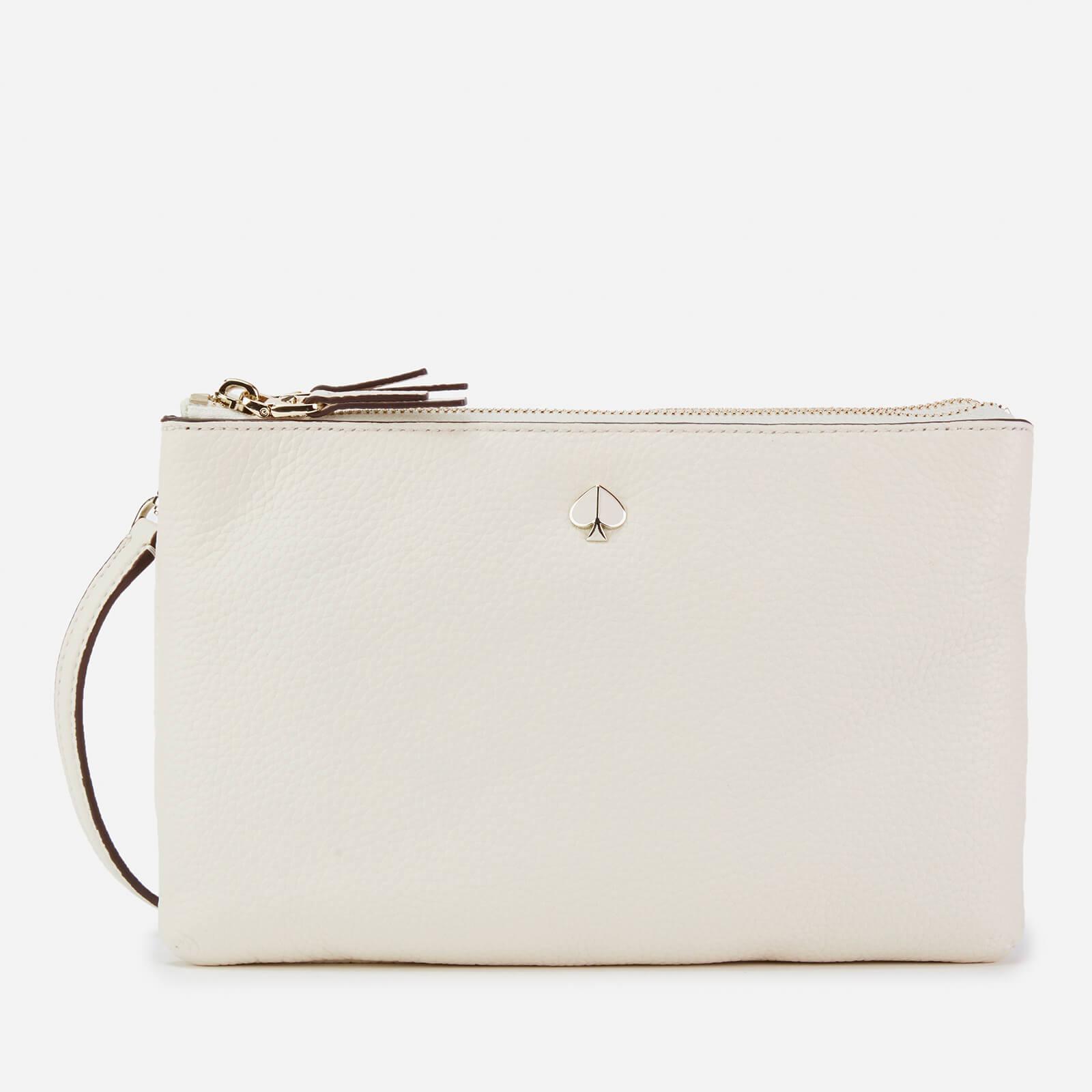 15762fbc296 Kate Spade New York Women's Polly Medium Double Gusset Cross Body Bag -  White