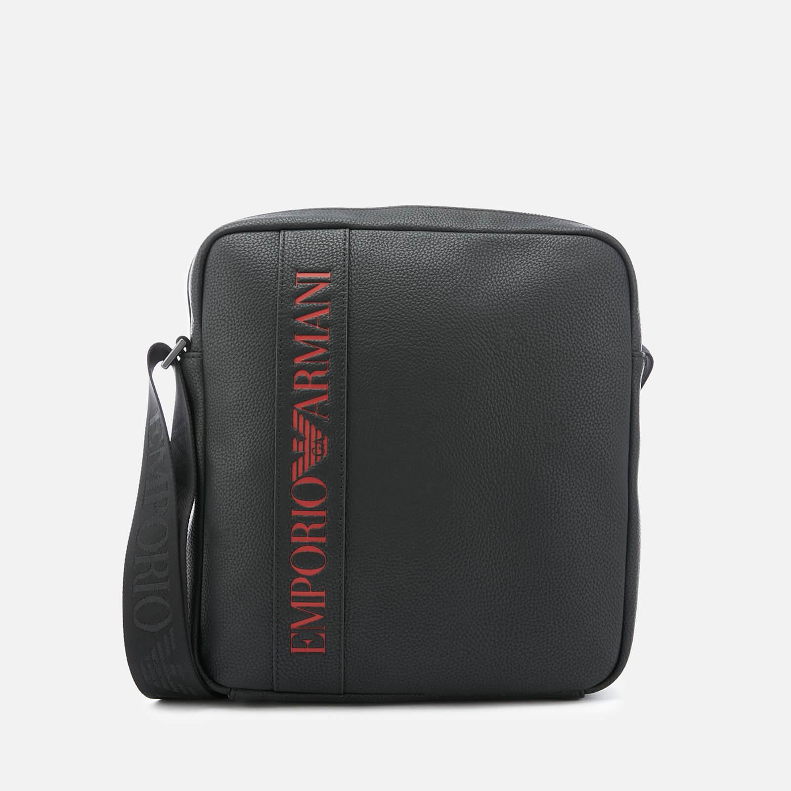 44a188e4 Emporio Armani Men's Cross Body Bag - Black